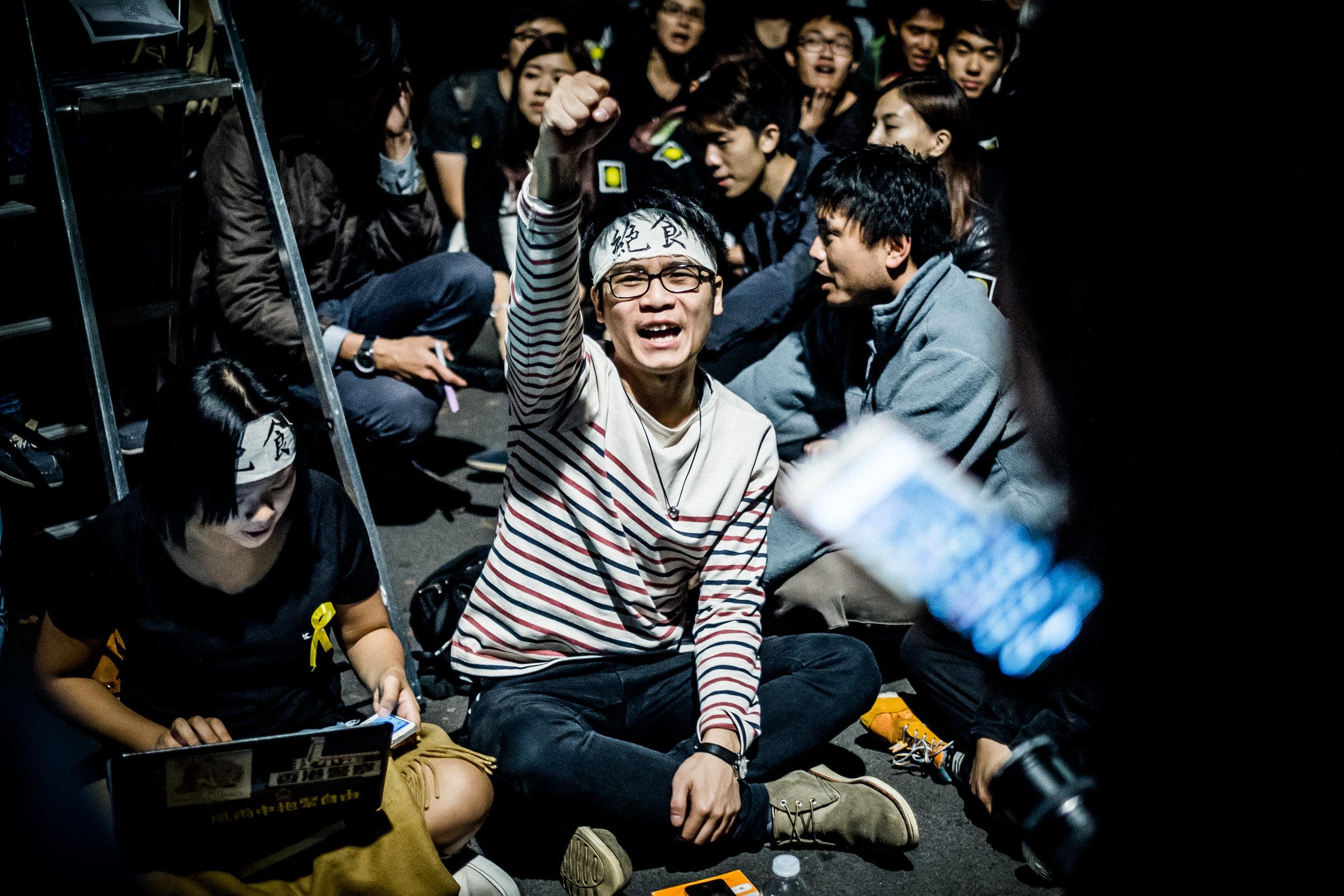Chinese Embassy Protest 011014 - Suki Mok-20.jpg