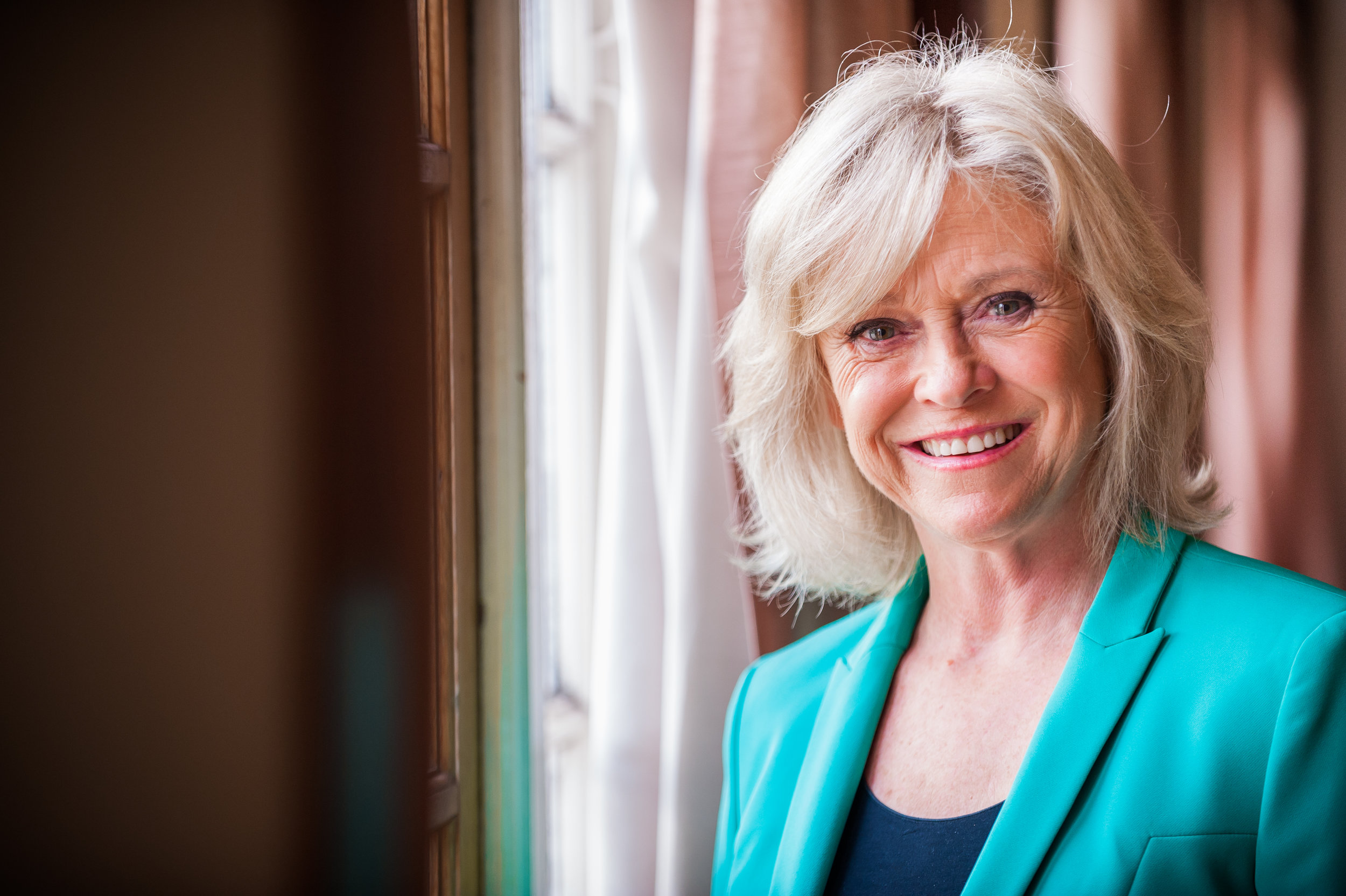 Sue Barker - TV Presenter and former professional tennis player
