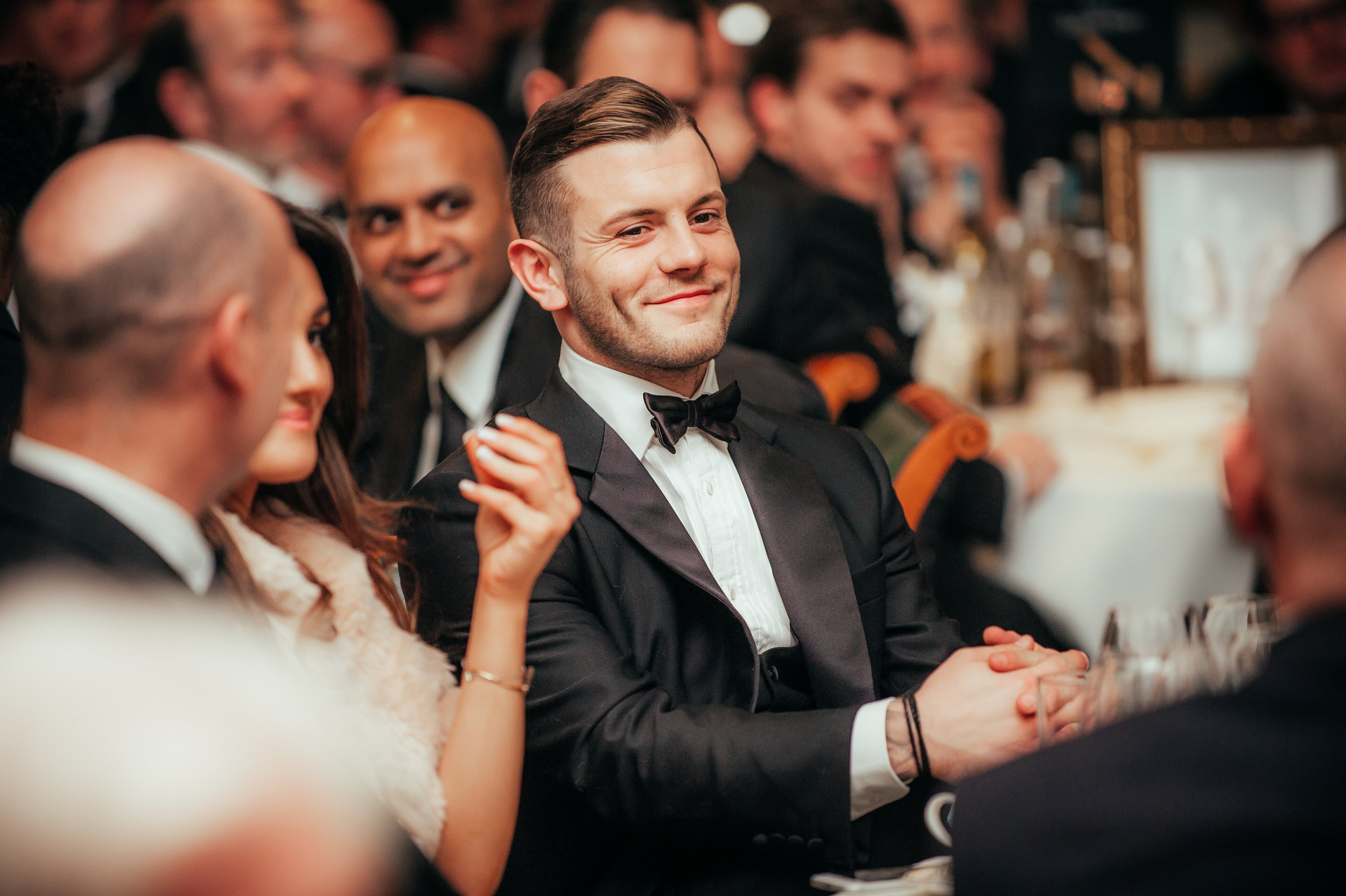 Jack Wilshere attends a charity fundraiser at Lords cricket ground.