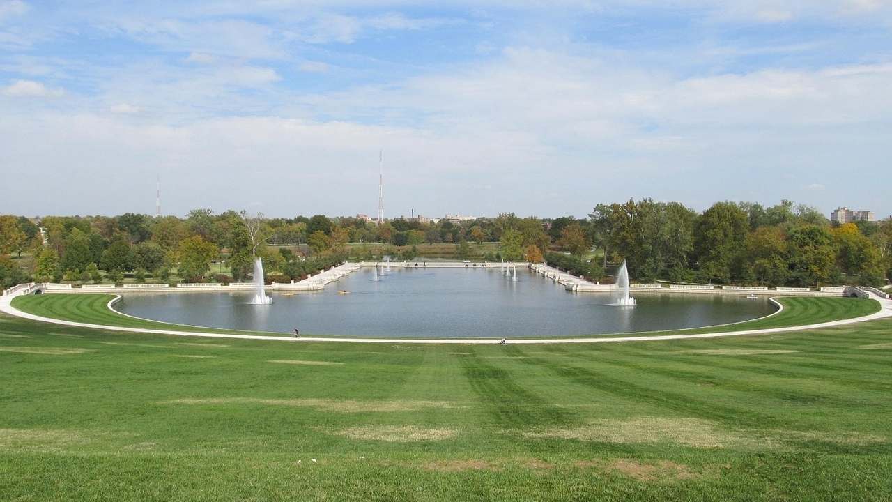 Art Hill in Forest Park, St. Louis