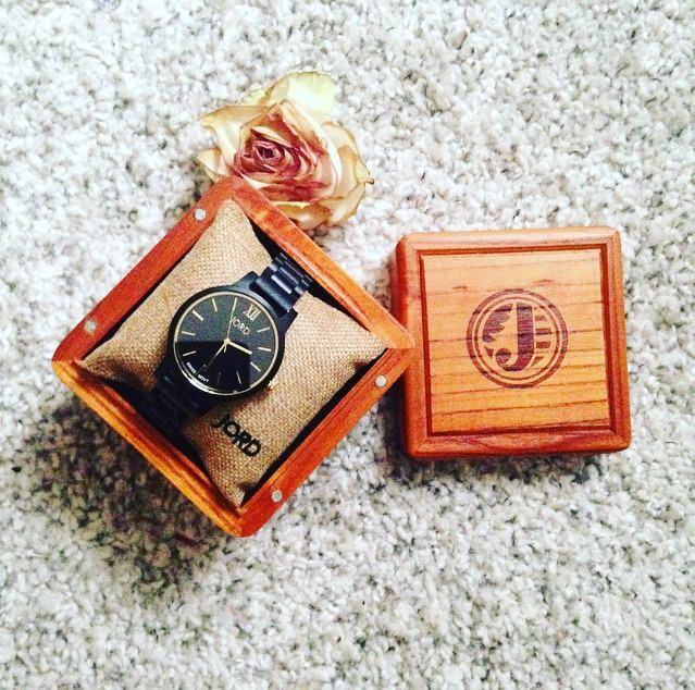 JORD Wood Watch in Packaging