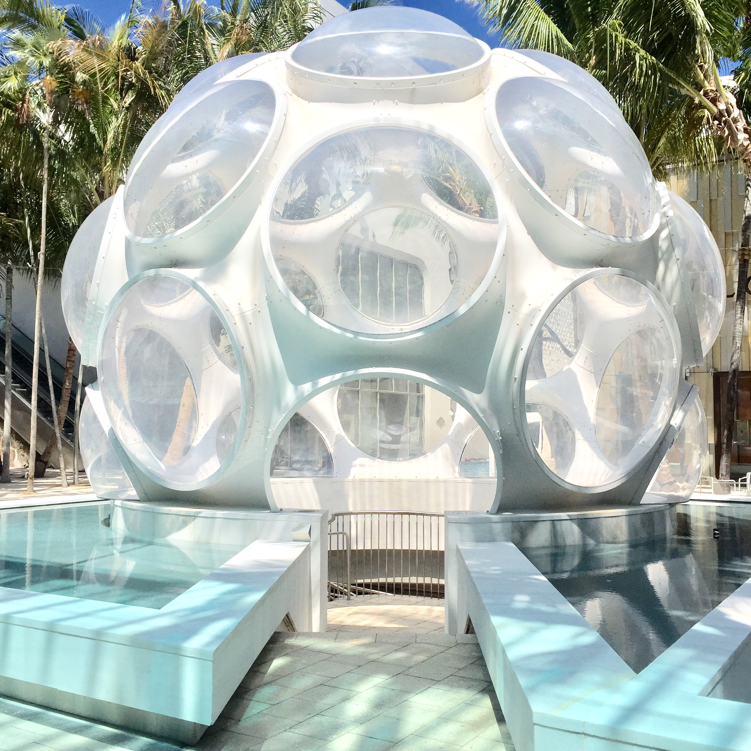 Palm Court Fly's Eye Dome at Miami Design District