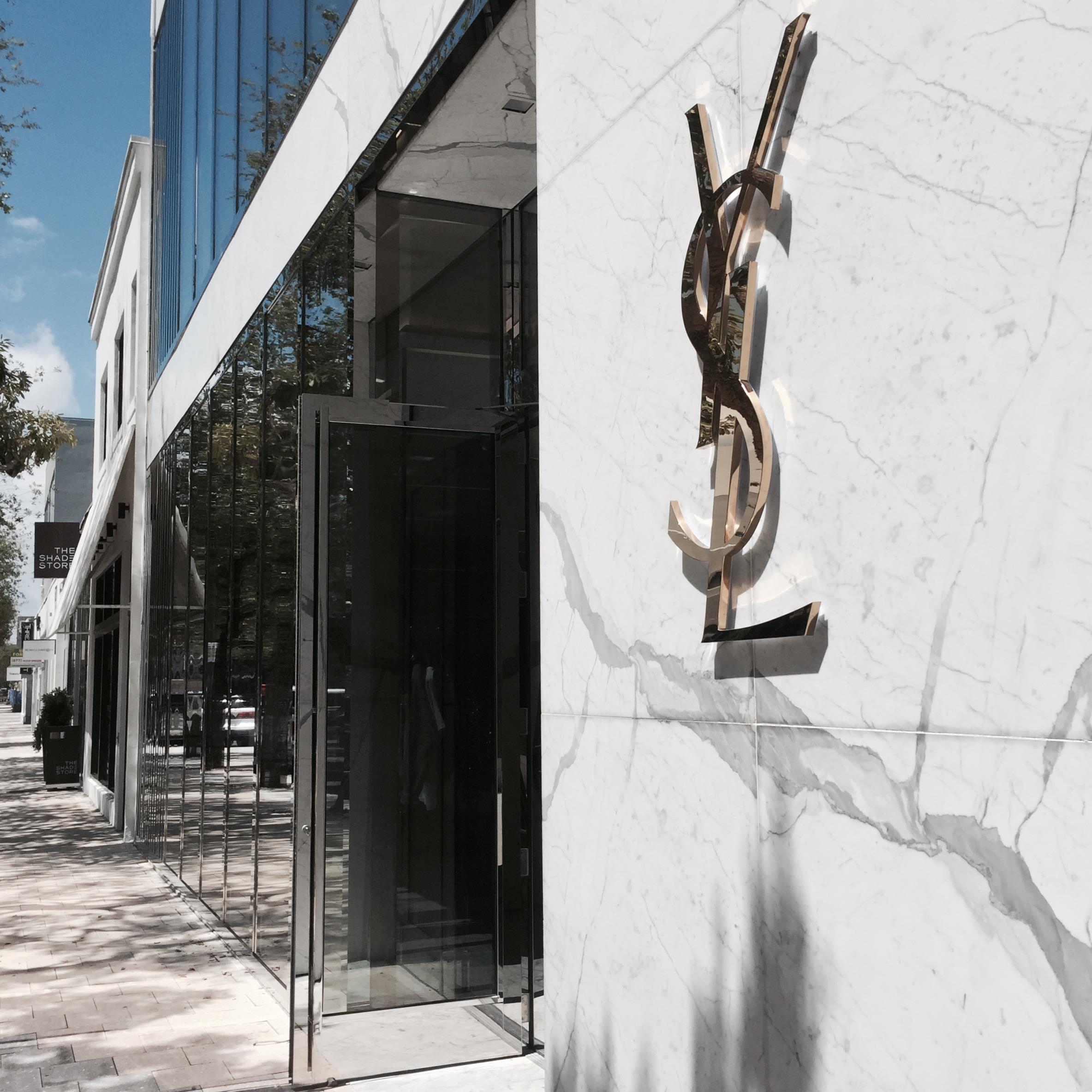 YSL at Miami Design District