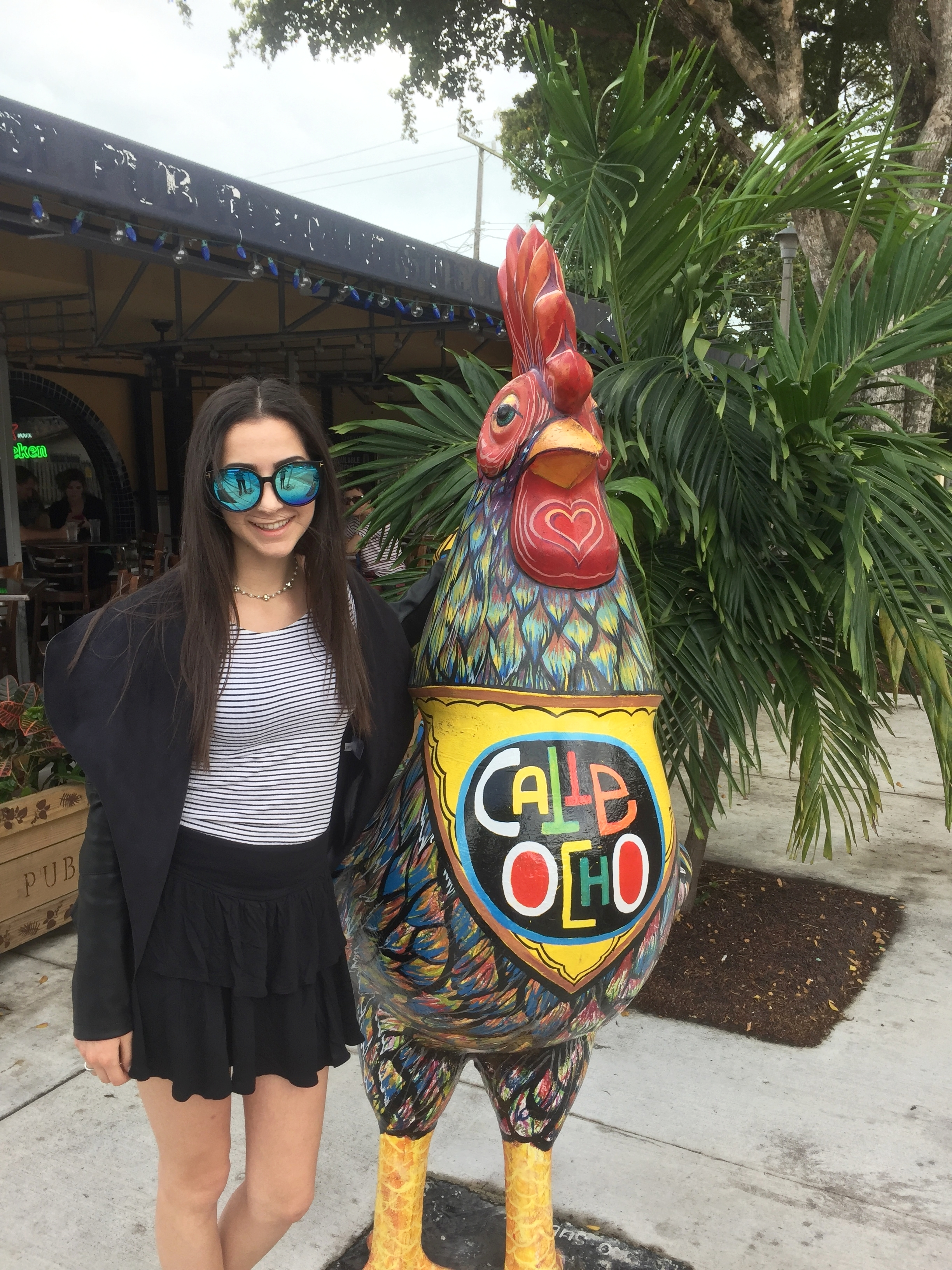 Calle Ocho Rooster Statue
