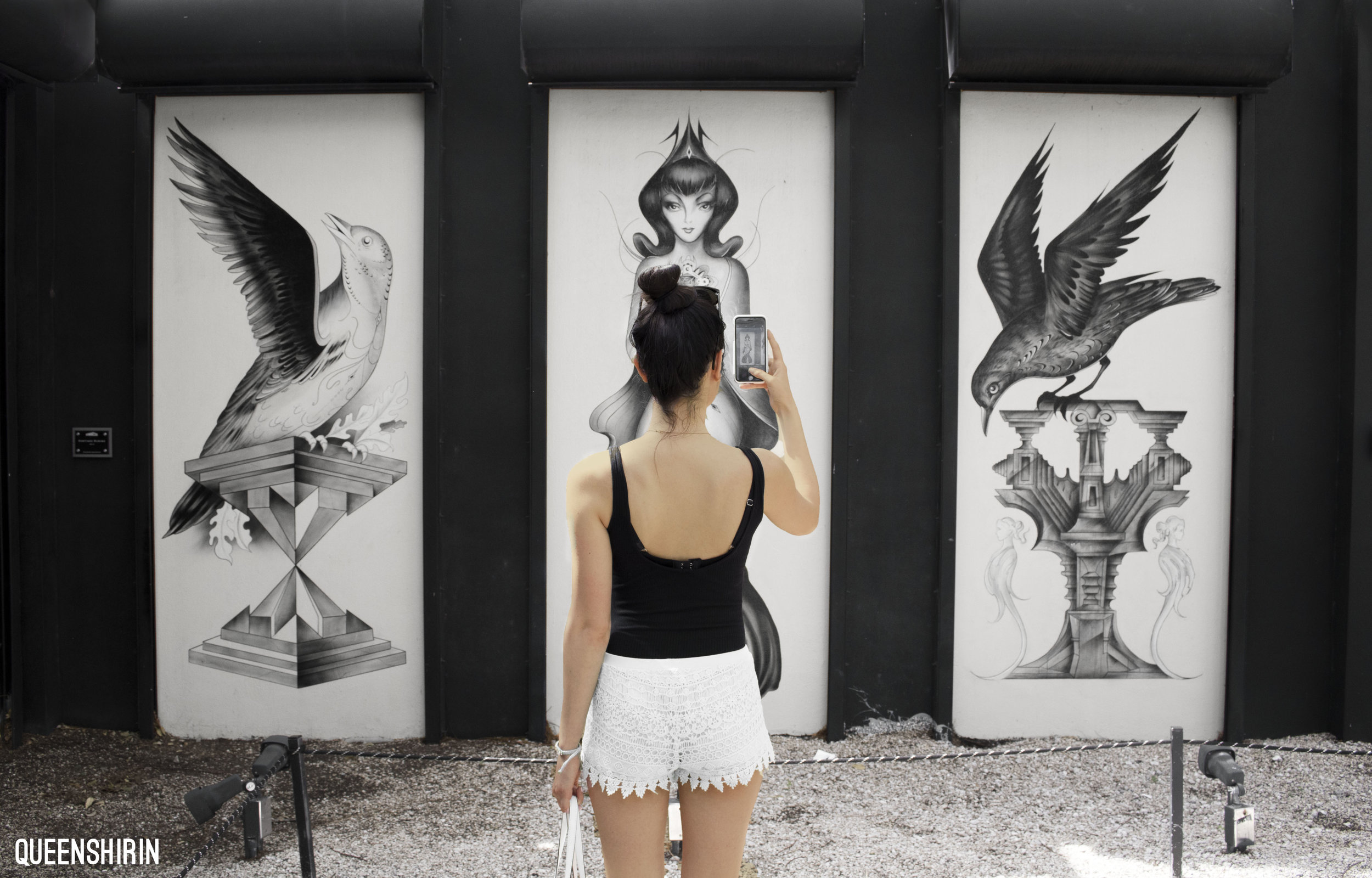 Wynwood Walls Miami Florida Queen Shirin