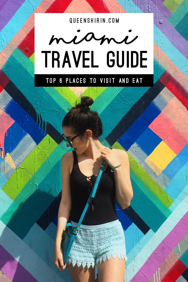 Miami Travel Guide Queen Shirin