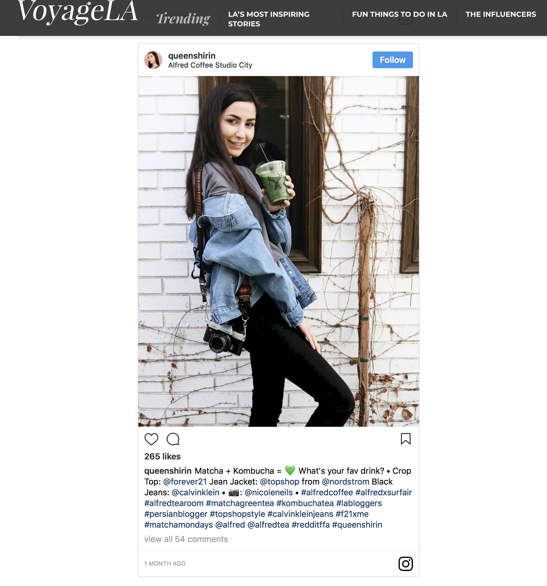 VoyageLA The Influencers Queen Shirin Feature.png