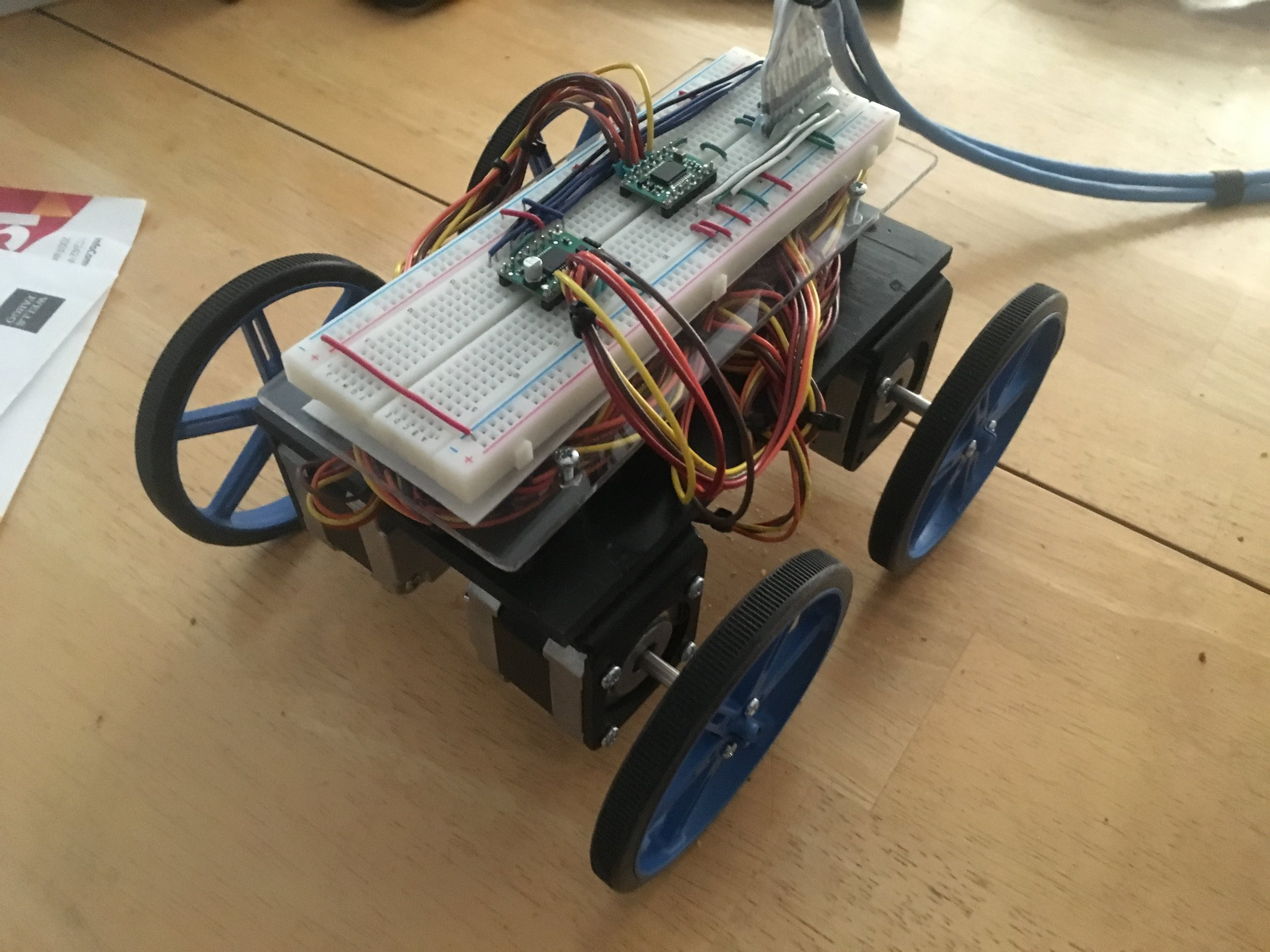 Assembled RC car