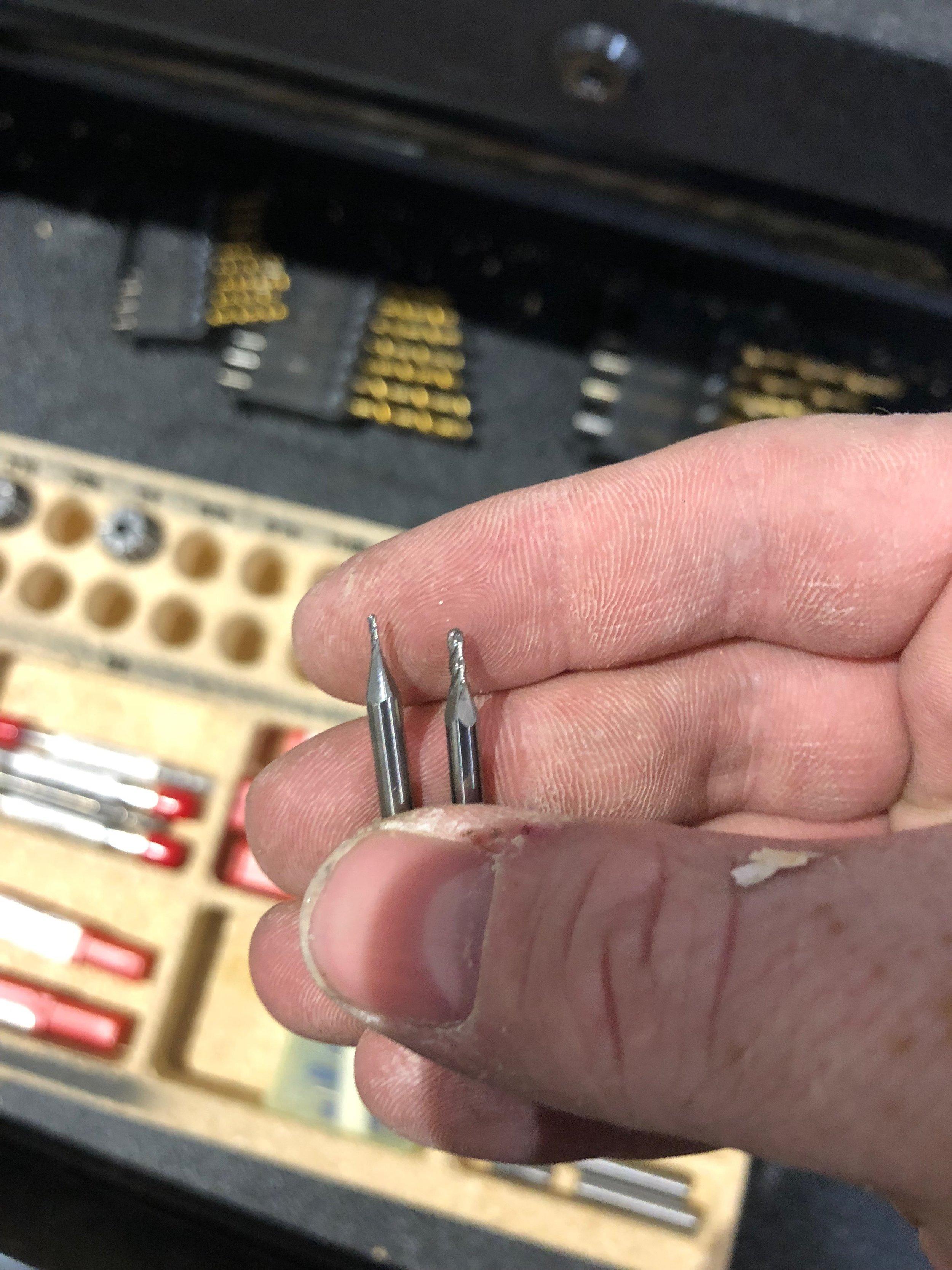 Small, but I didn't break them!