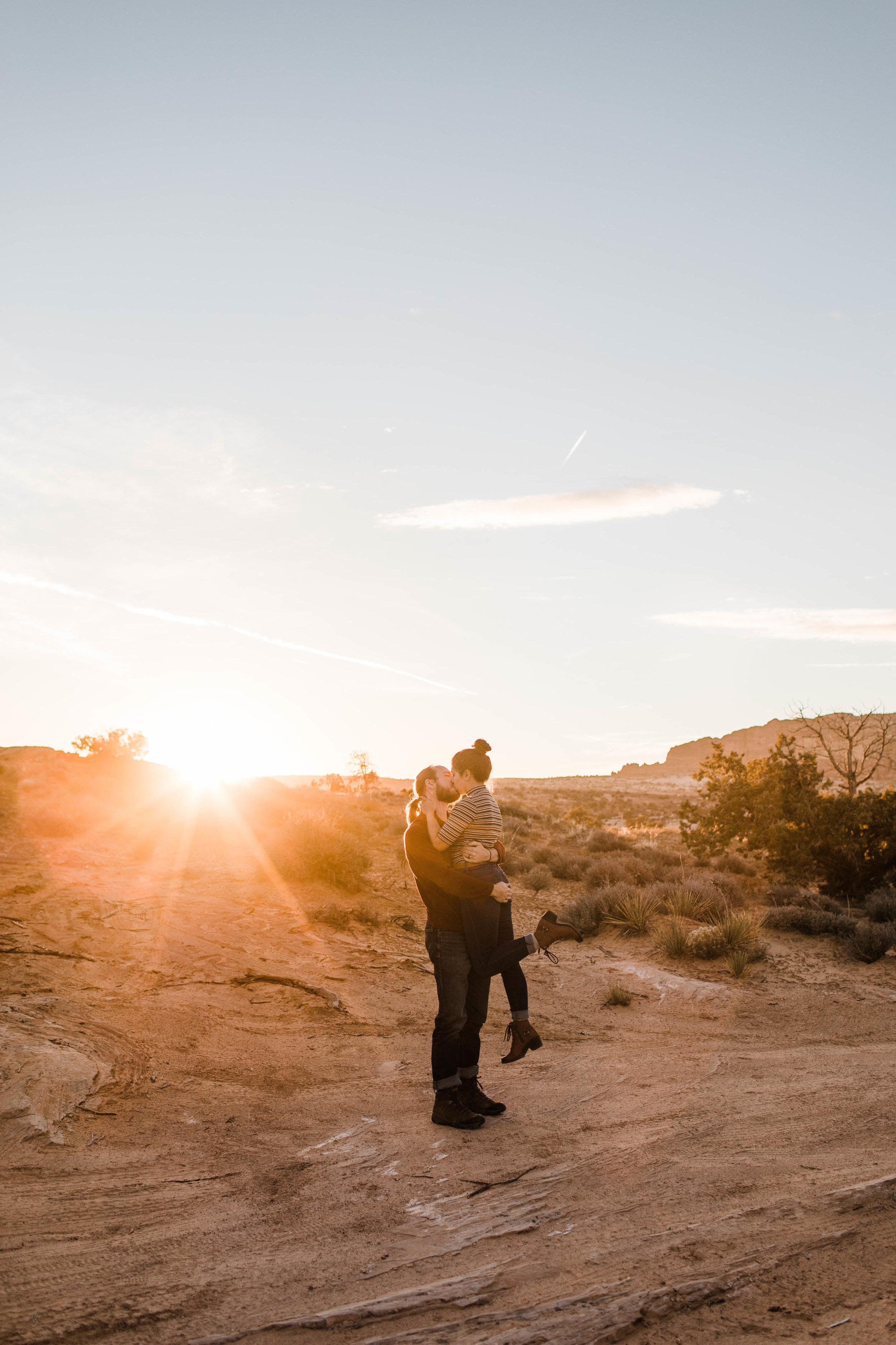 Sunset in Moab | Utah Adventure Wedding Photographer