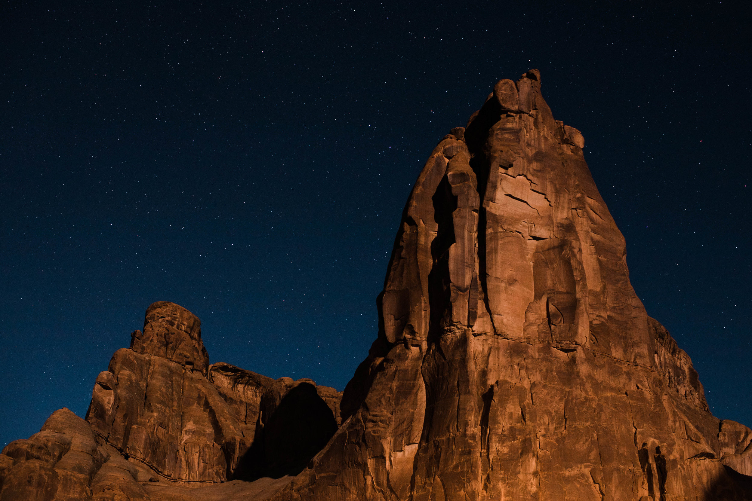 Starry night in Moab | Best Utah Wedding Photographers