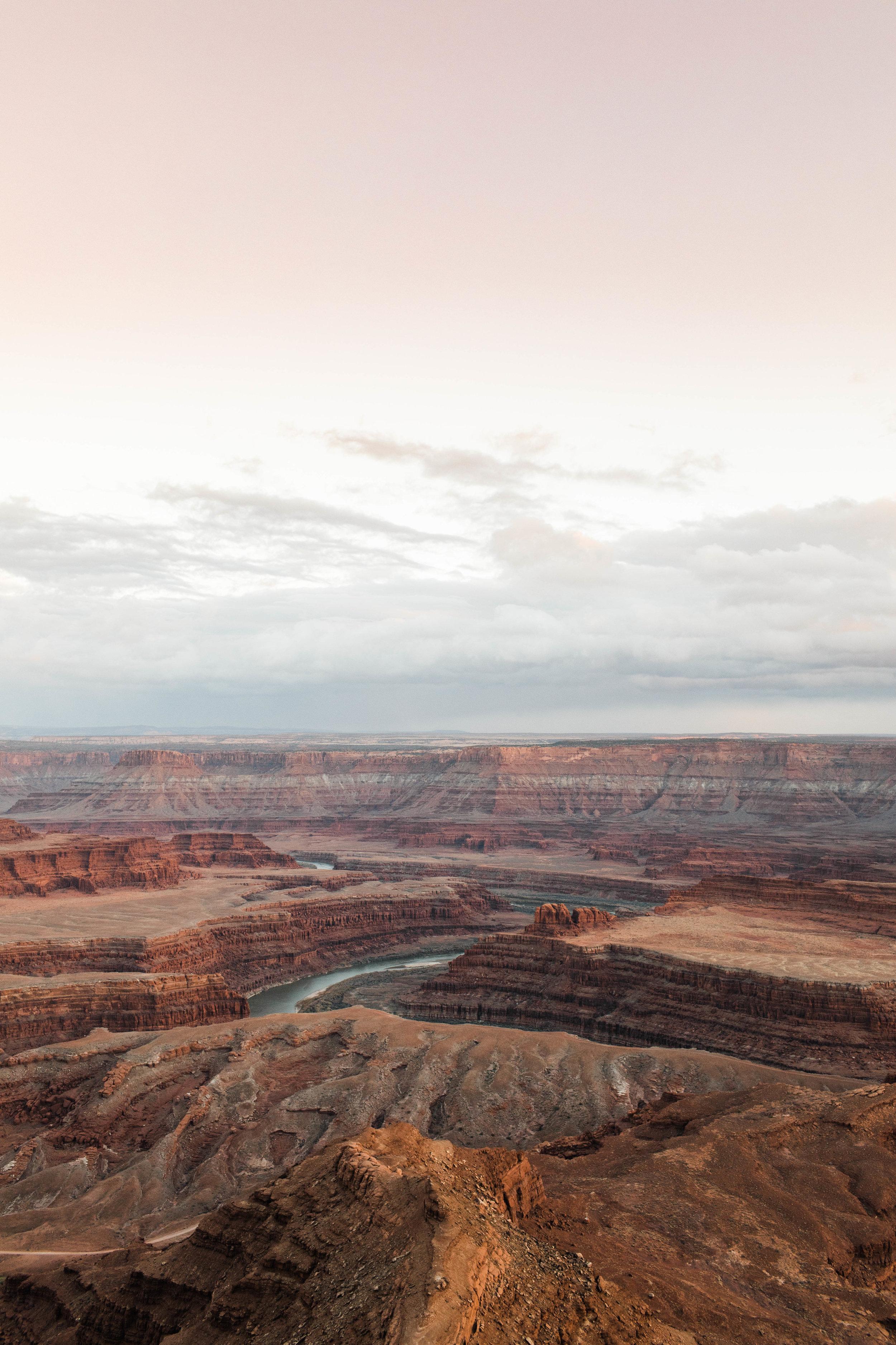 Blue hour in Moab | Utah Wedding Photographer