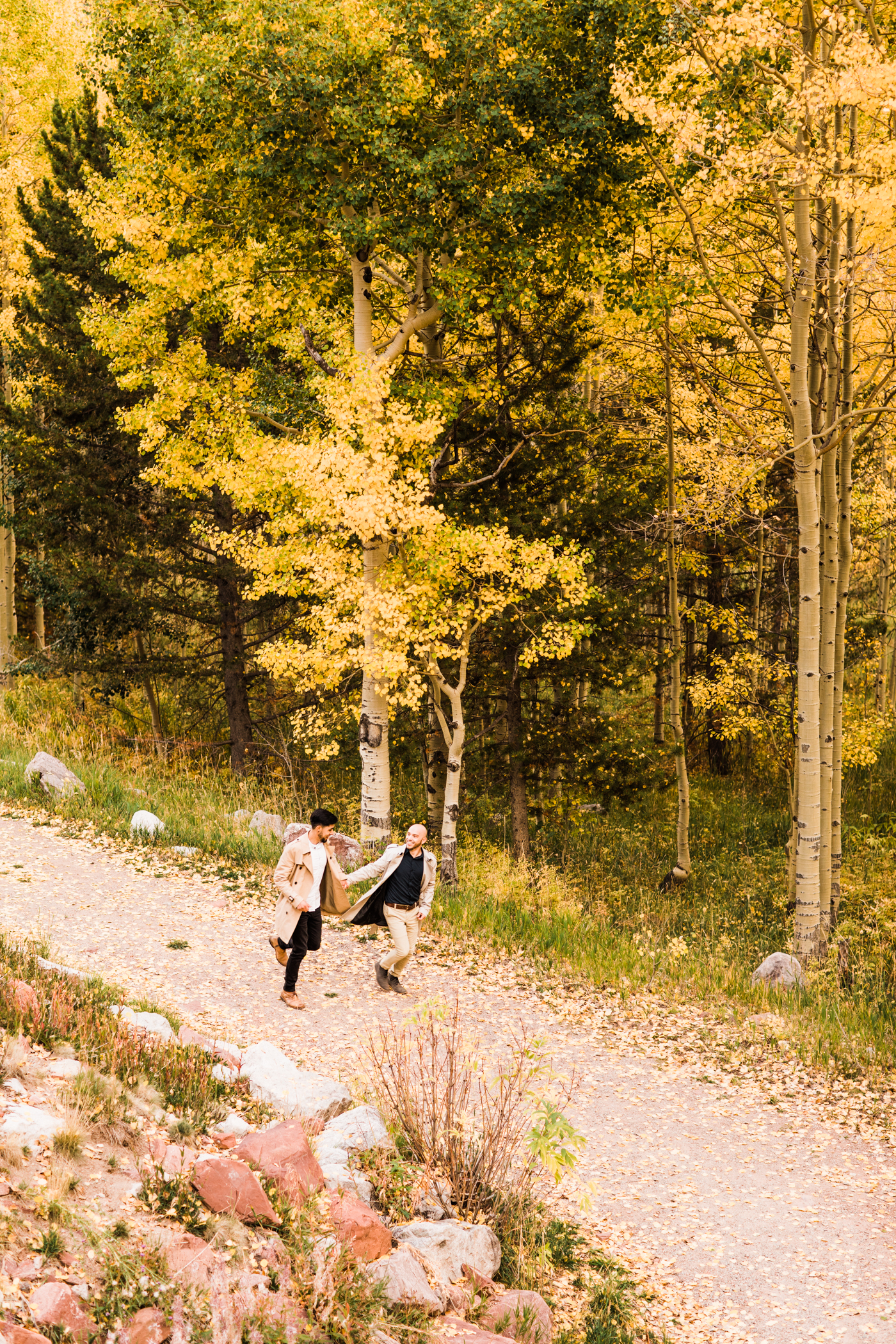 Aspen, Colorado Rocky Mountain Engagement Session | elopement photographers near Maroon Bells