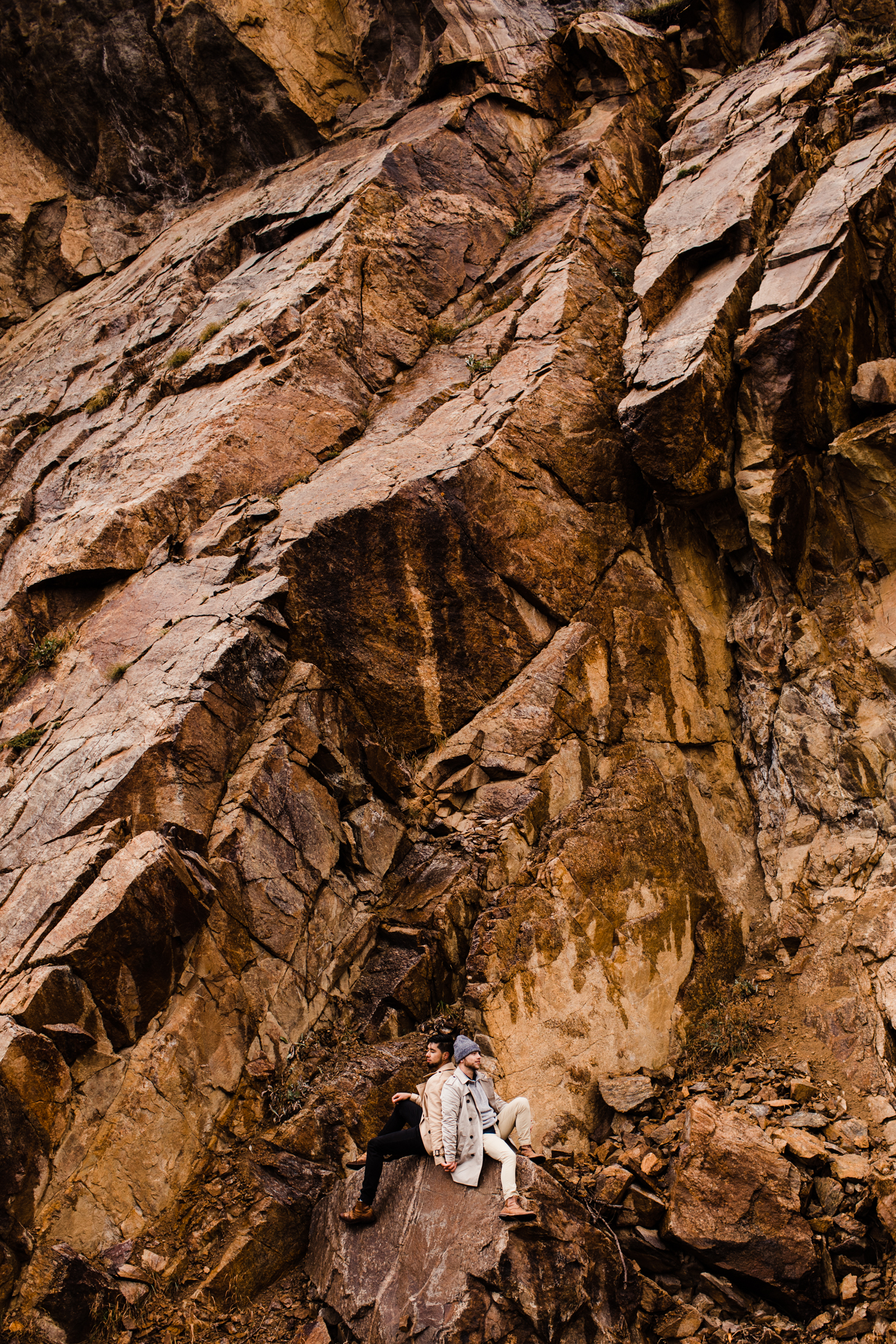 Aspen, Colorado Independence Pass Rocky Mountain Adventure Mountain Hiking Adventure Session | Maroon Bells engagement session
