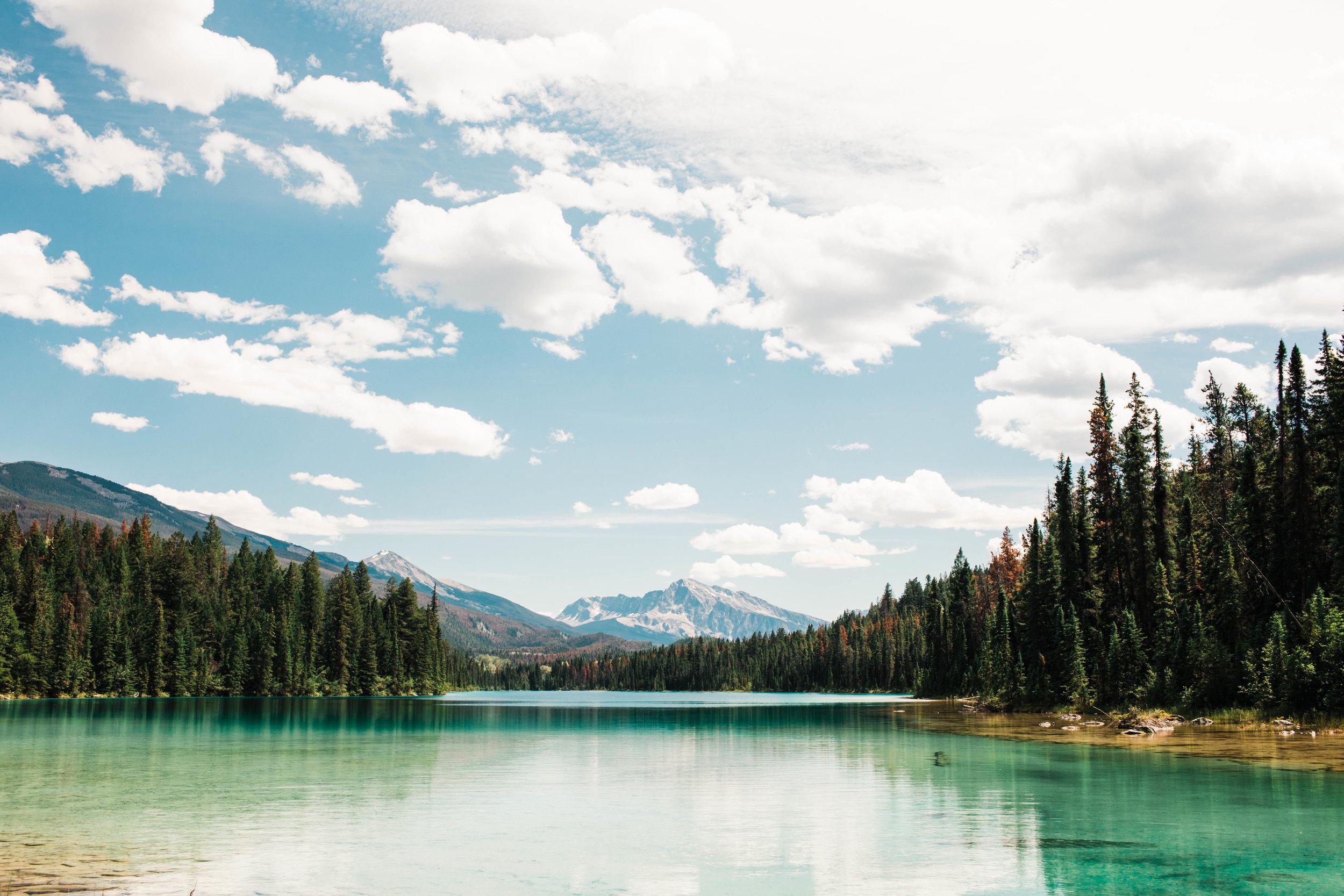 Spring adventure elopement Rocky Mountains