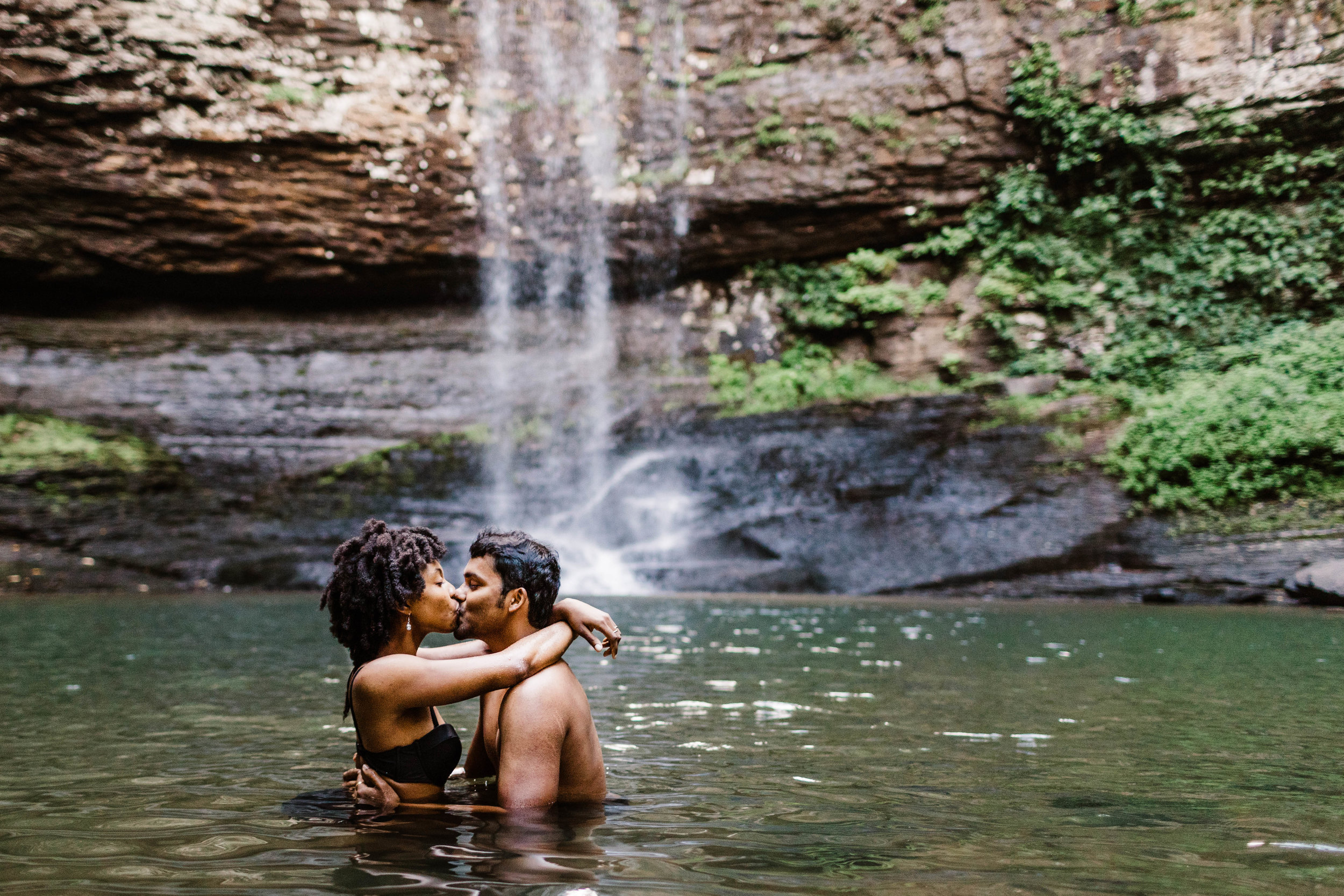 Steamy Lake Engagement Session | Best Asheville North Carolina Elopement Photographer