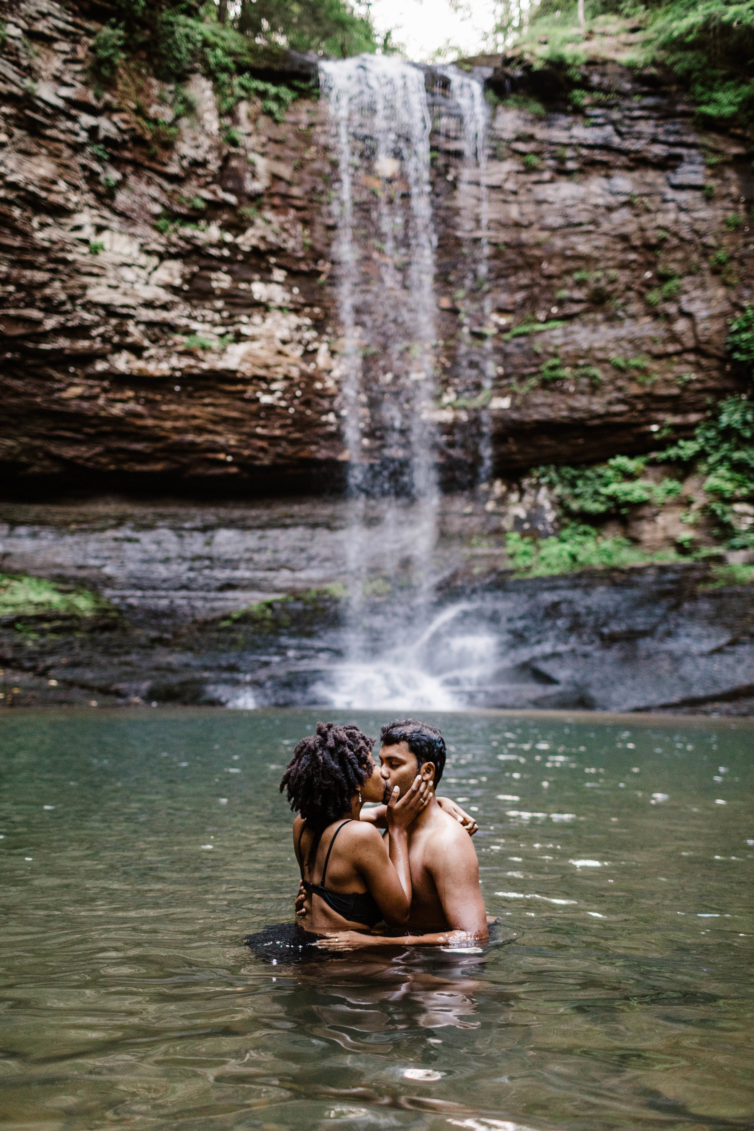 Asheville North Carolina Adventure Engagement Session in the Appalachian Mountains | Best Asheville Elopement Photographers