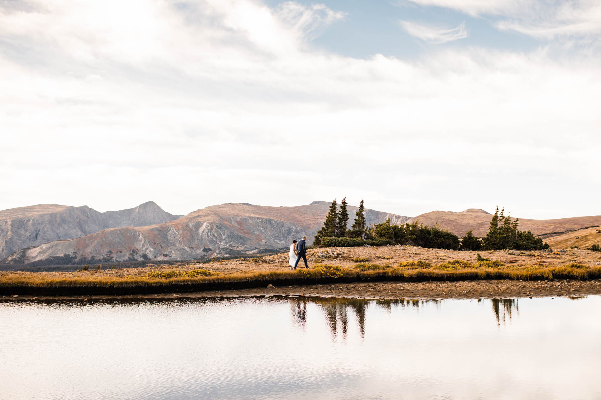 Colorado Rocky Mountain elopement | Best wedding photographers in Colorado