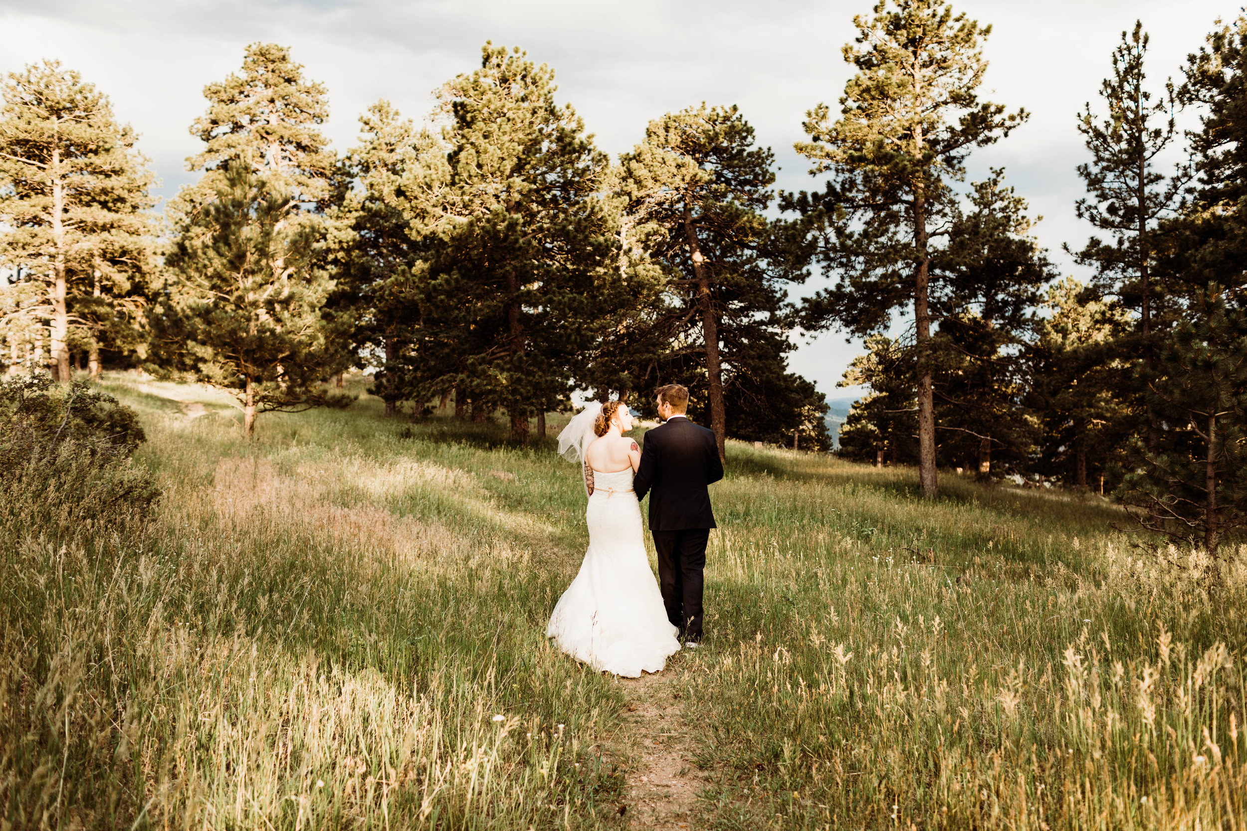 Golden Colorado Adventure Elopement in the Rocky Mountains | Colorado Adventure Weddings