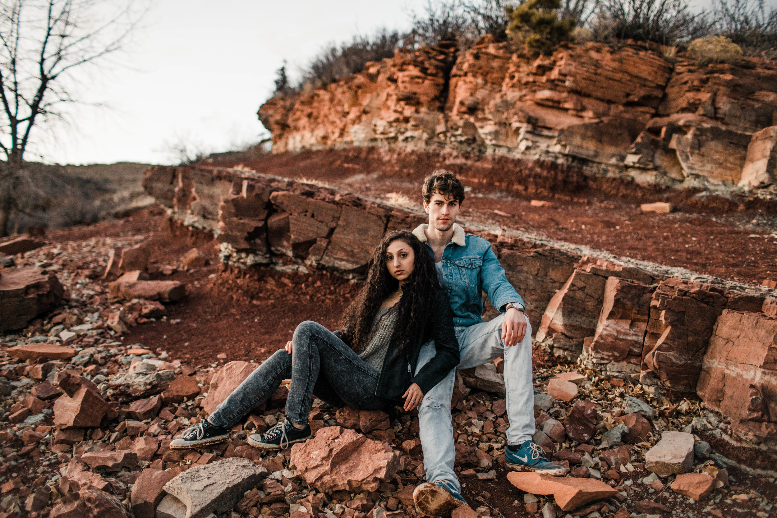 Fort Collins engagement photos in the Rocky Mountains | Fort Collins wedding photographers