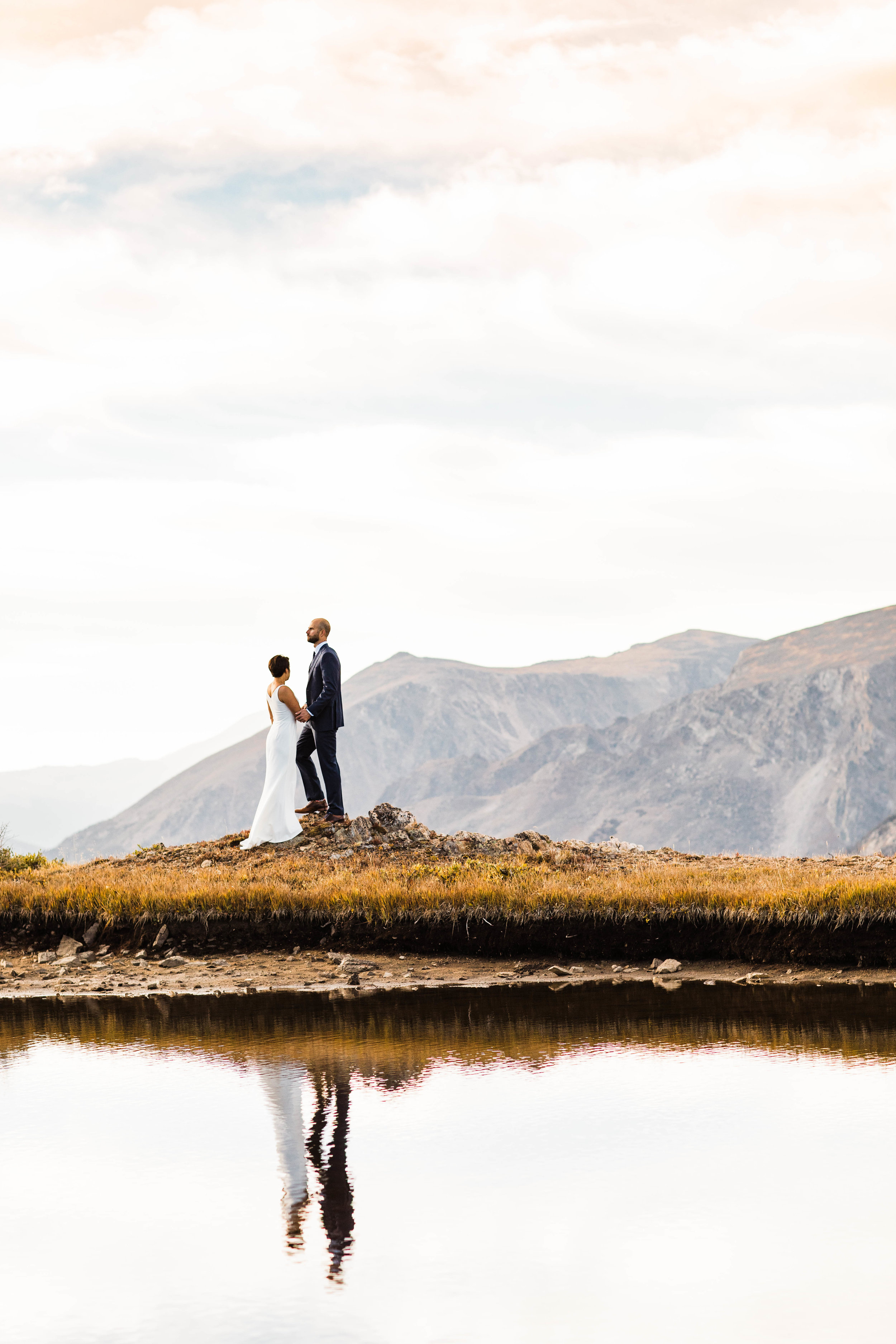 Rocky Mountain National Park Post-Wedding Adventure Session | Estes Park, Colorado | Best Colorado Elopement Photographer