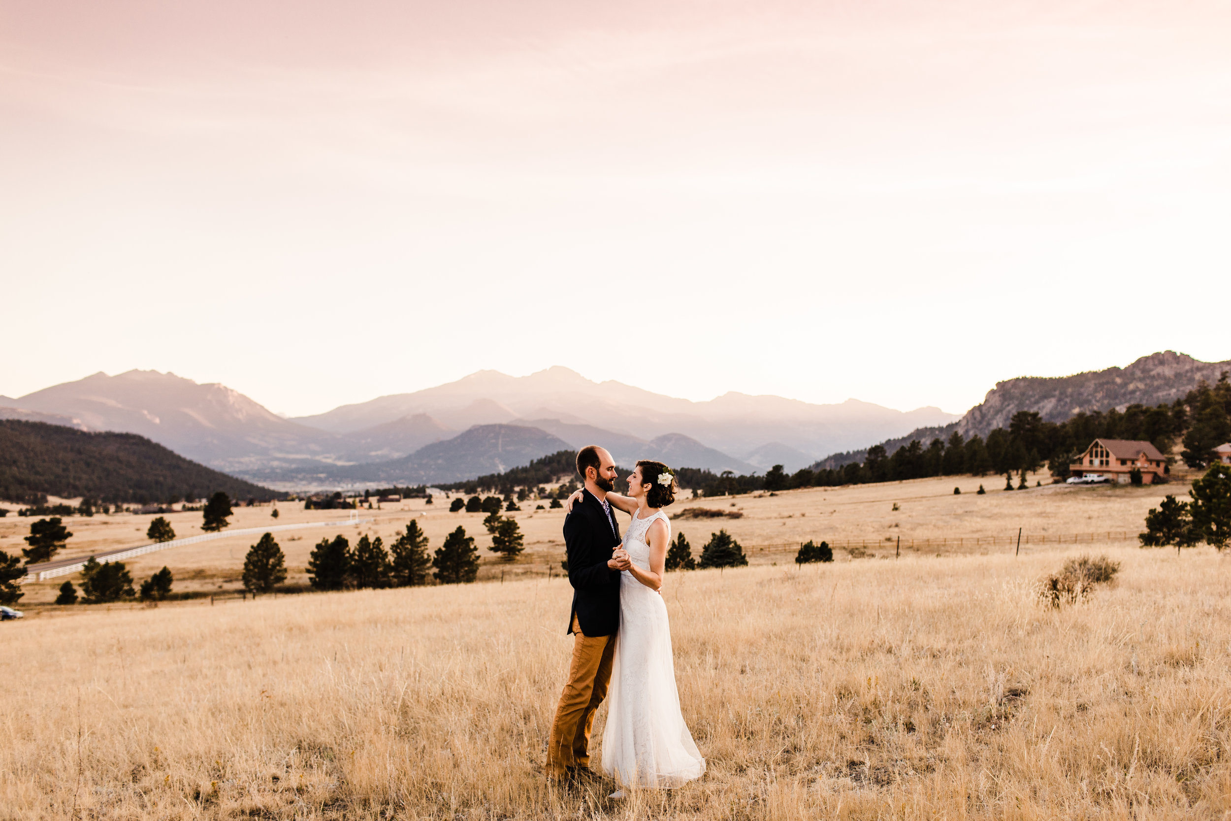 Adventure Wedding in the mountains of Estes Park | | Colorado mountain wedding photographers
