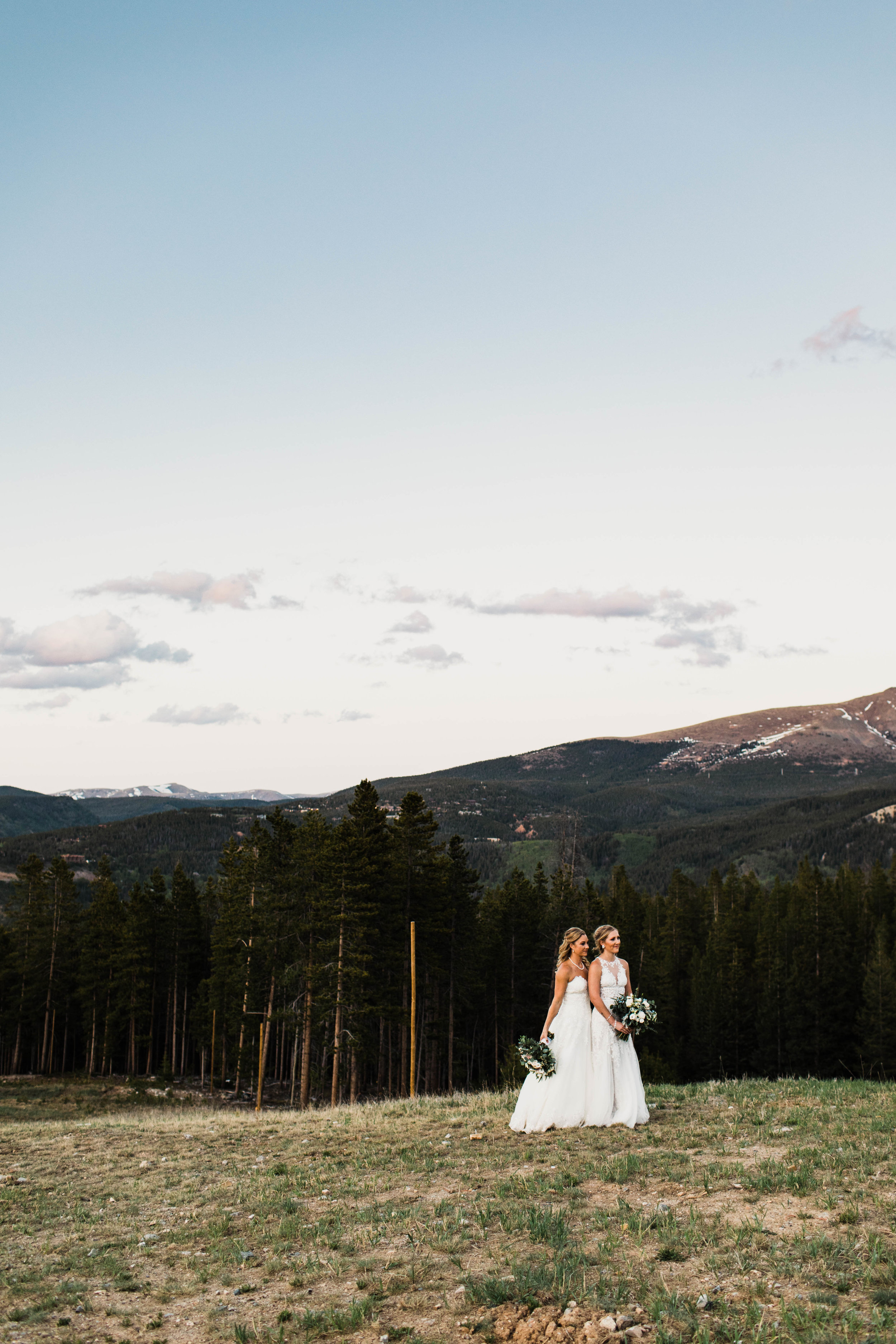 Ten Mile Station Mountain Wedding | Breckenridge, Colorado Wedding | Best Breckenridge Wedding Photographers