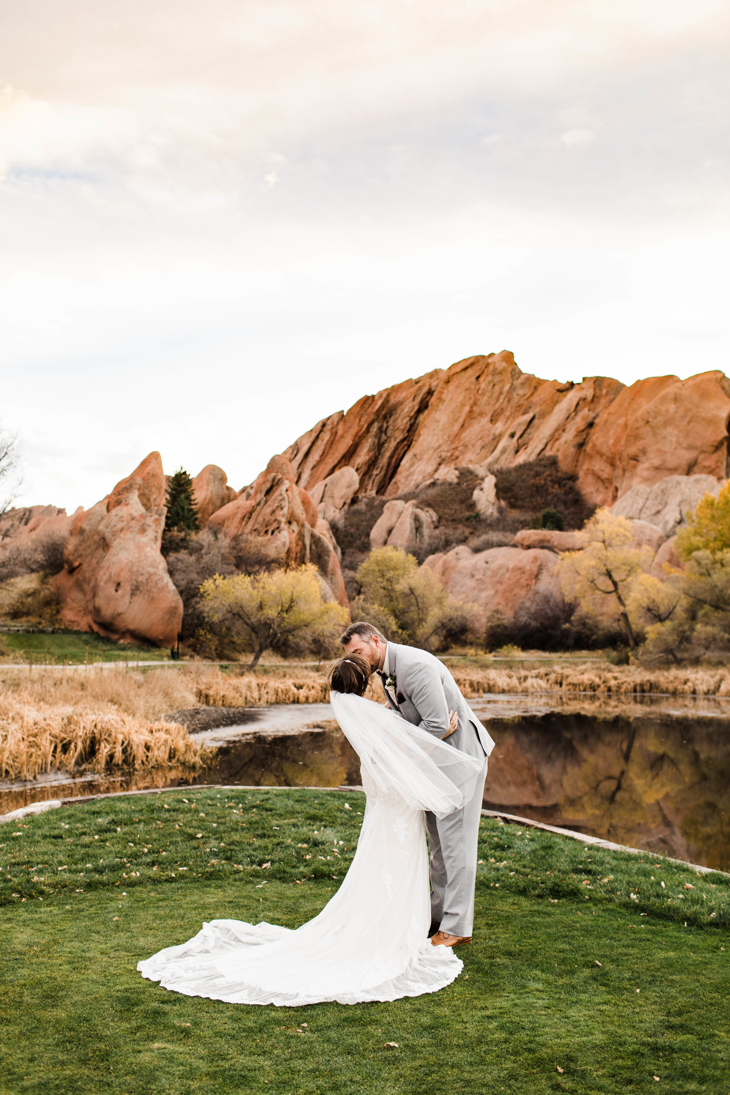 Arrowhead Golf Course Wedding in Denver | Colorado elopement photographers in Fort Collins