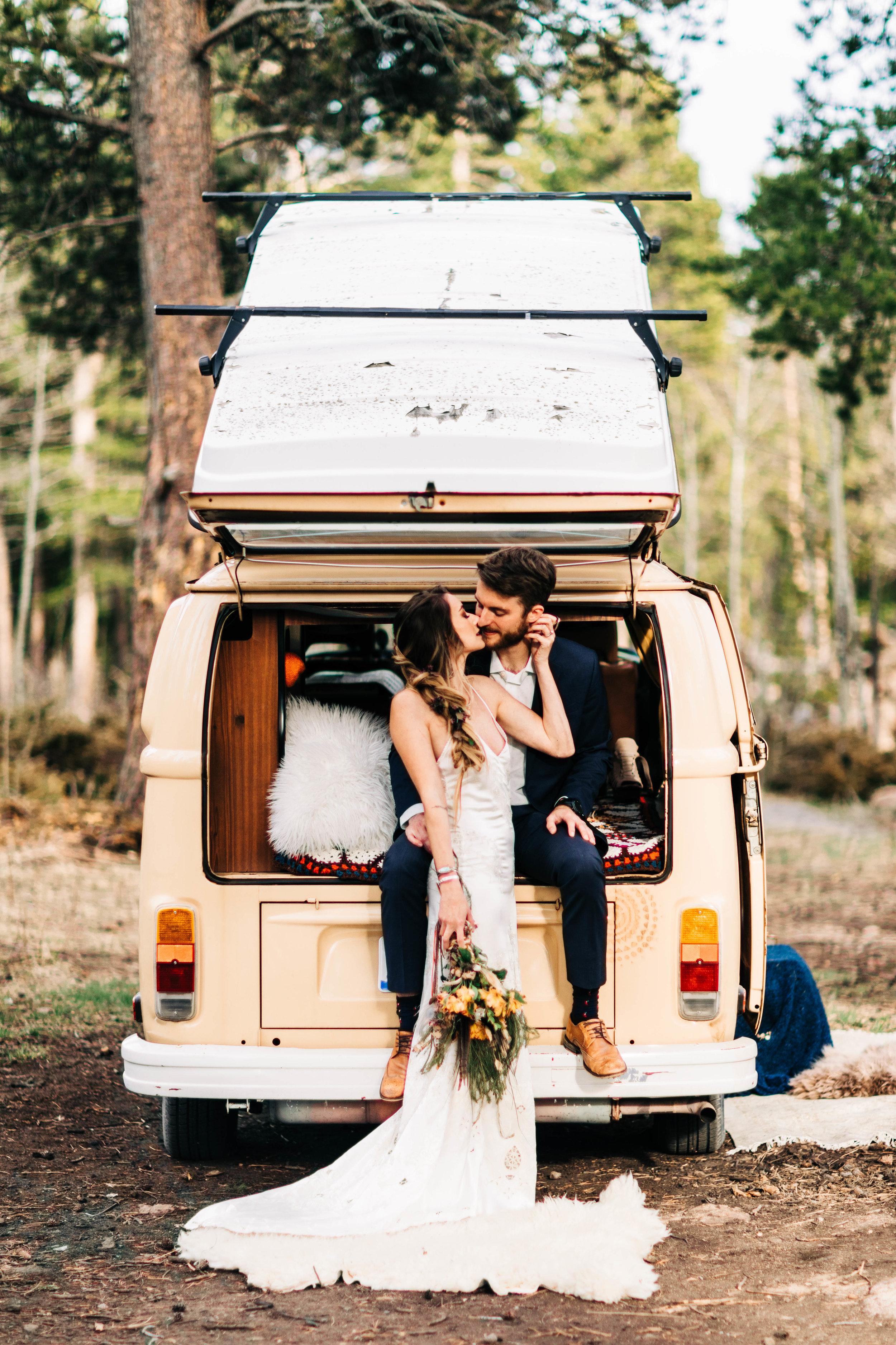 adventure wedding in northern Colorado | Rocky Mountain elopements