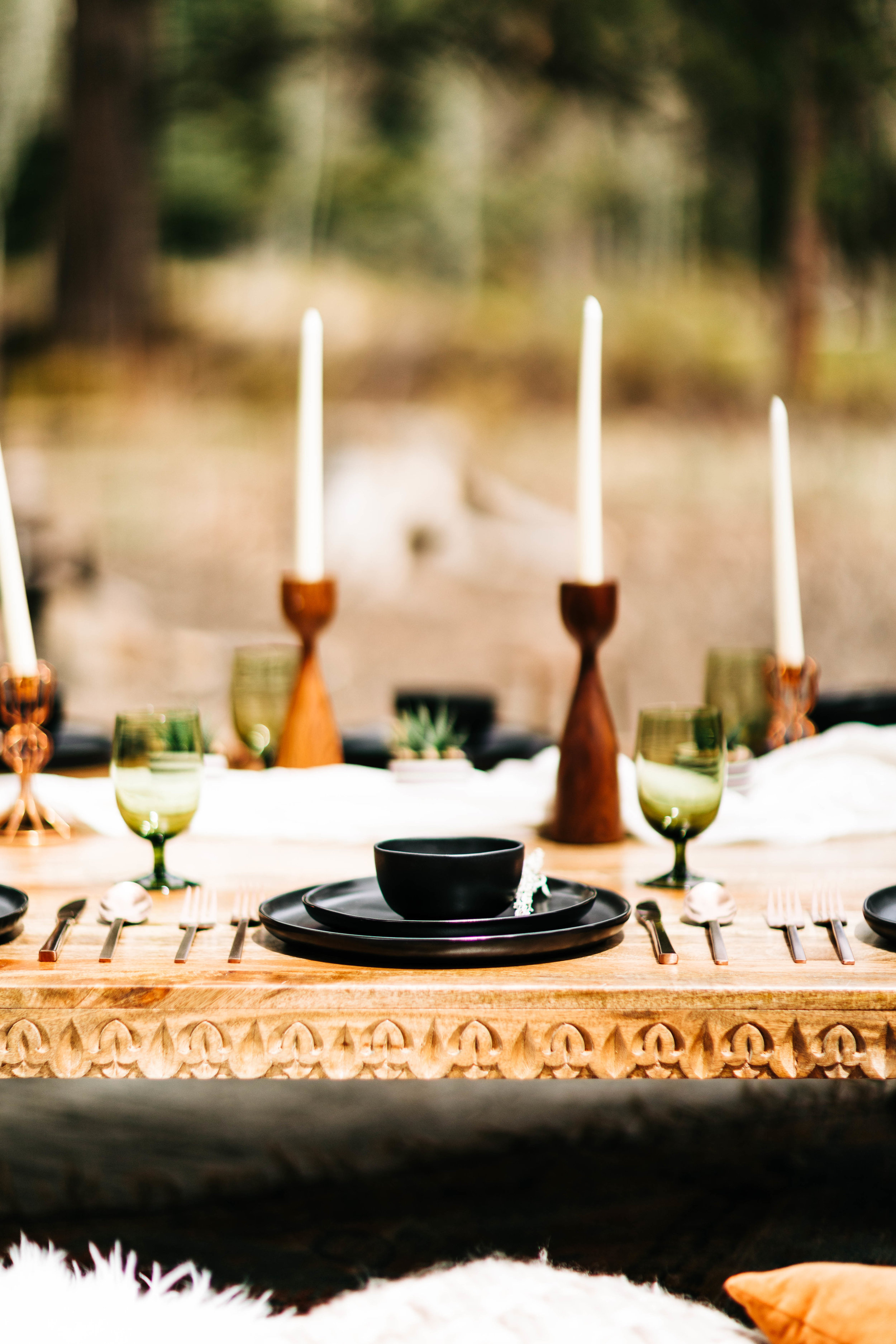 Morocco inspired adventure elopement picnic | Rocky Mountain elopement ideas