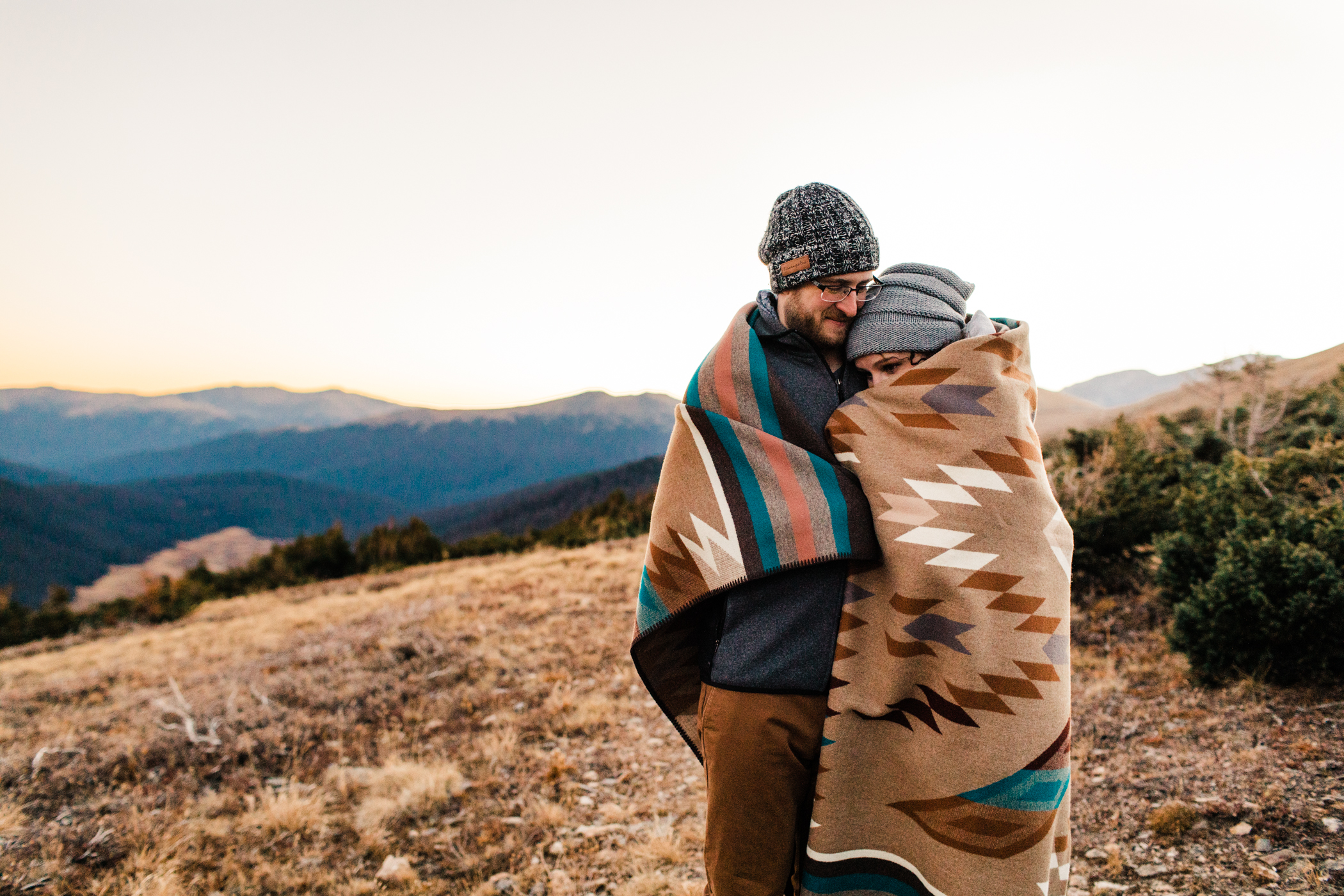 Colorado engagement session in Rocky Mountain National Park | Colorado national park elopement photographers