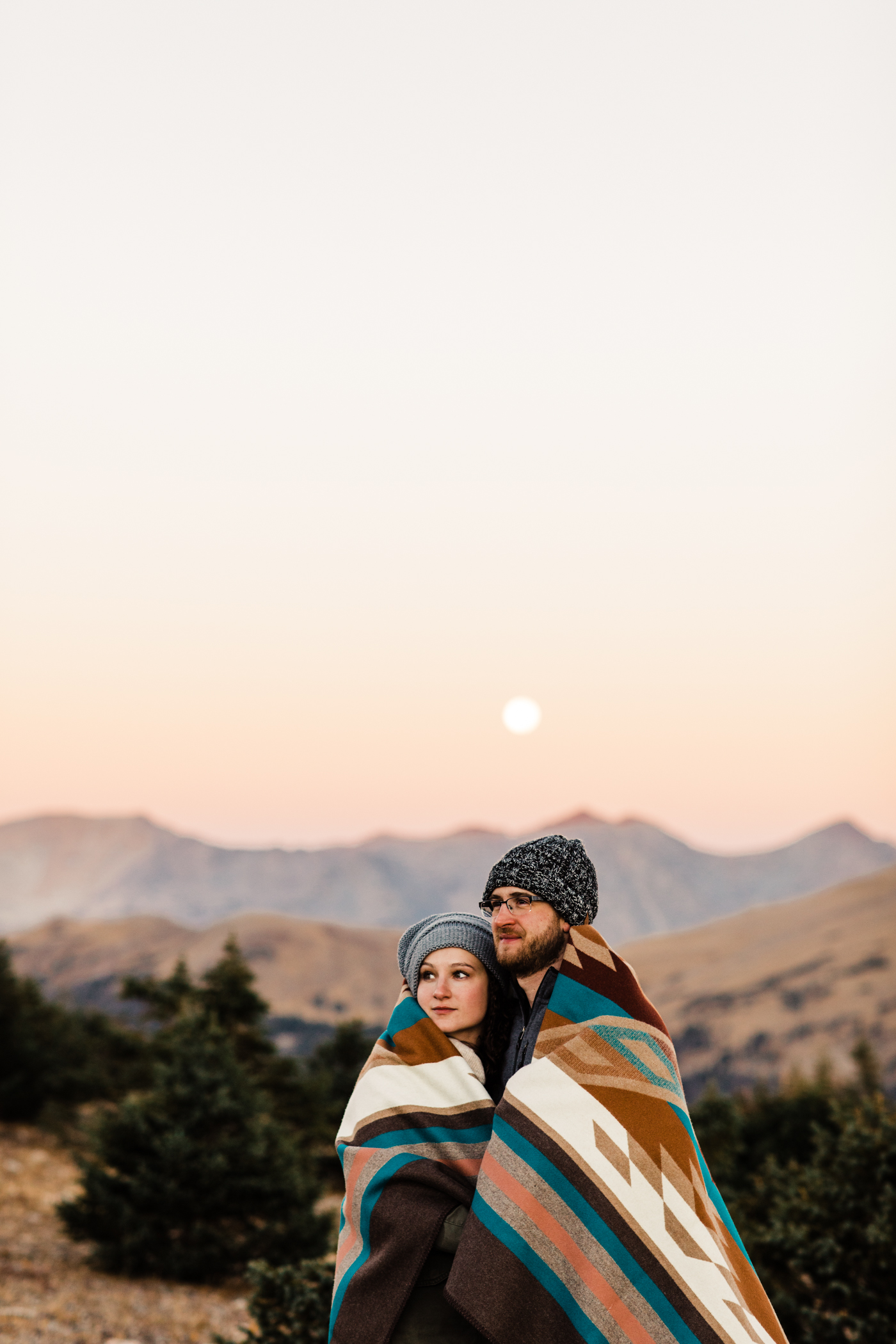 Colorado engagement photos in Estes Park | Rocky Mountain elopement photographers