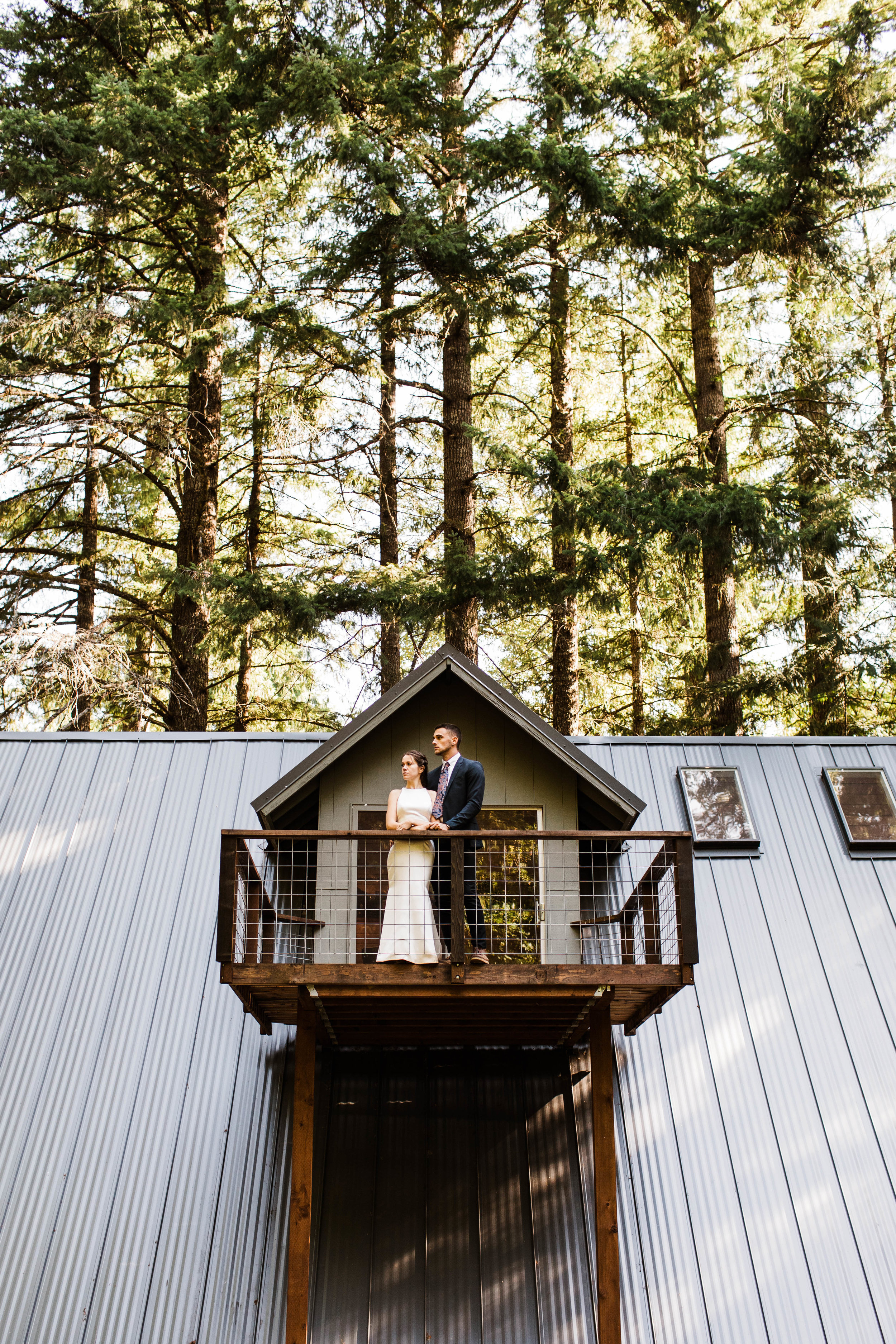 elopement first dance in Mt Rainier National Park | Washington state adventure wedding and elopement photographers
