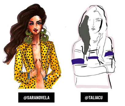 see you next season! - Don't forget to check out Talia Cu's seven amazing illustrated recaps for #ComicFashionWeek.