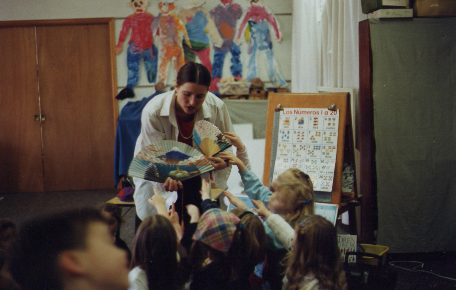- Parent and Me Story, Song and Art Events - Live Paint will facilitate story, songs and music, puppetry, process oriented art projects and a lot of fun for the little ones in your lives. A great fit for daycares, libraries, preschools, parent and me groups and more.