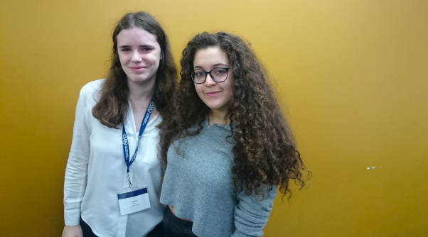 The delegate of France and Belgium after an interview regarding the specifics of their resolution (Washington Post).