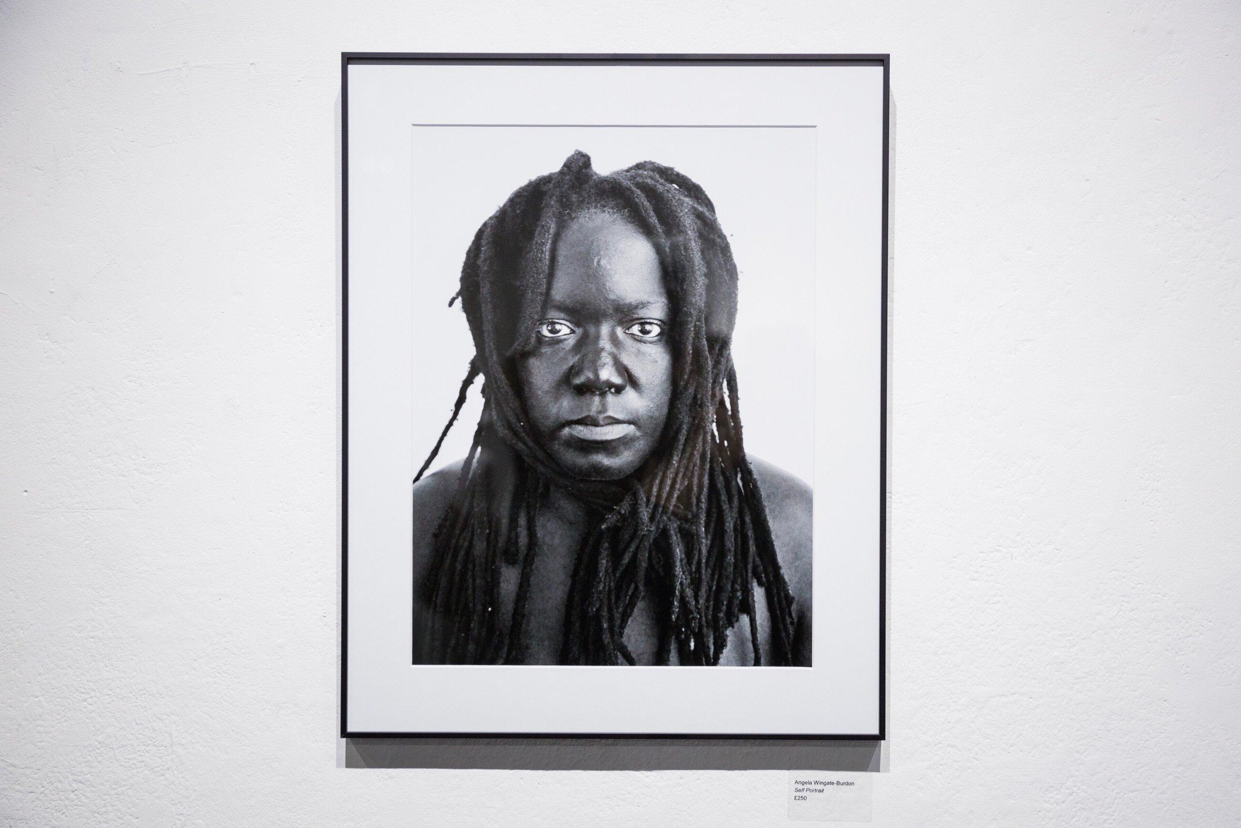 Self-portrait, Angela Wingate-Burdon, 2017. Image credit: Greg Abramowicz