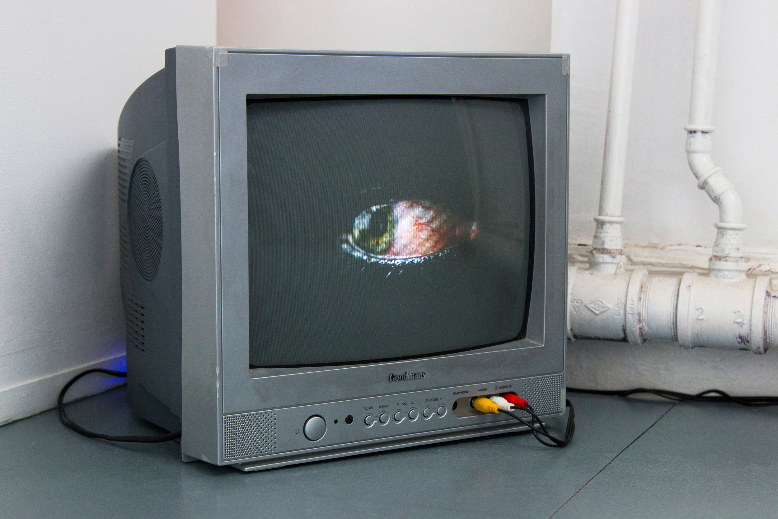 Matt Wilkinson,  Fragment , video, 2018, exhibited in  Something or Nothing .