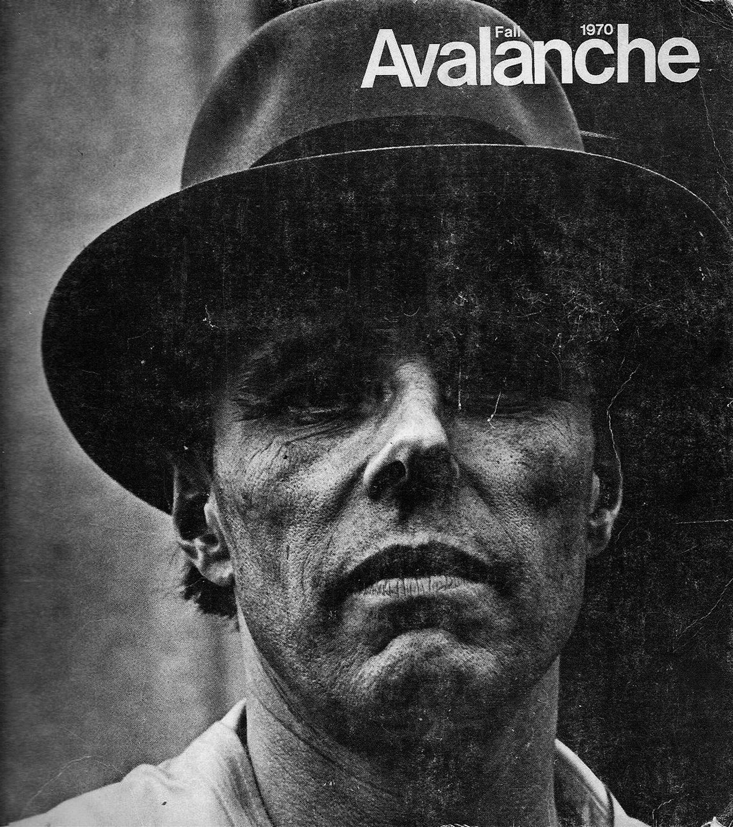 Avalanche - First issue featuring Joseph Beuys, Autumn 1970