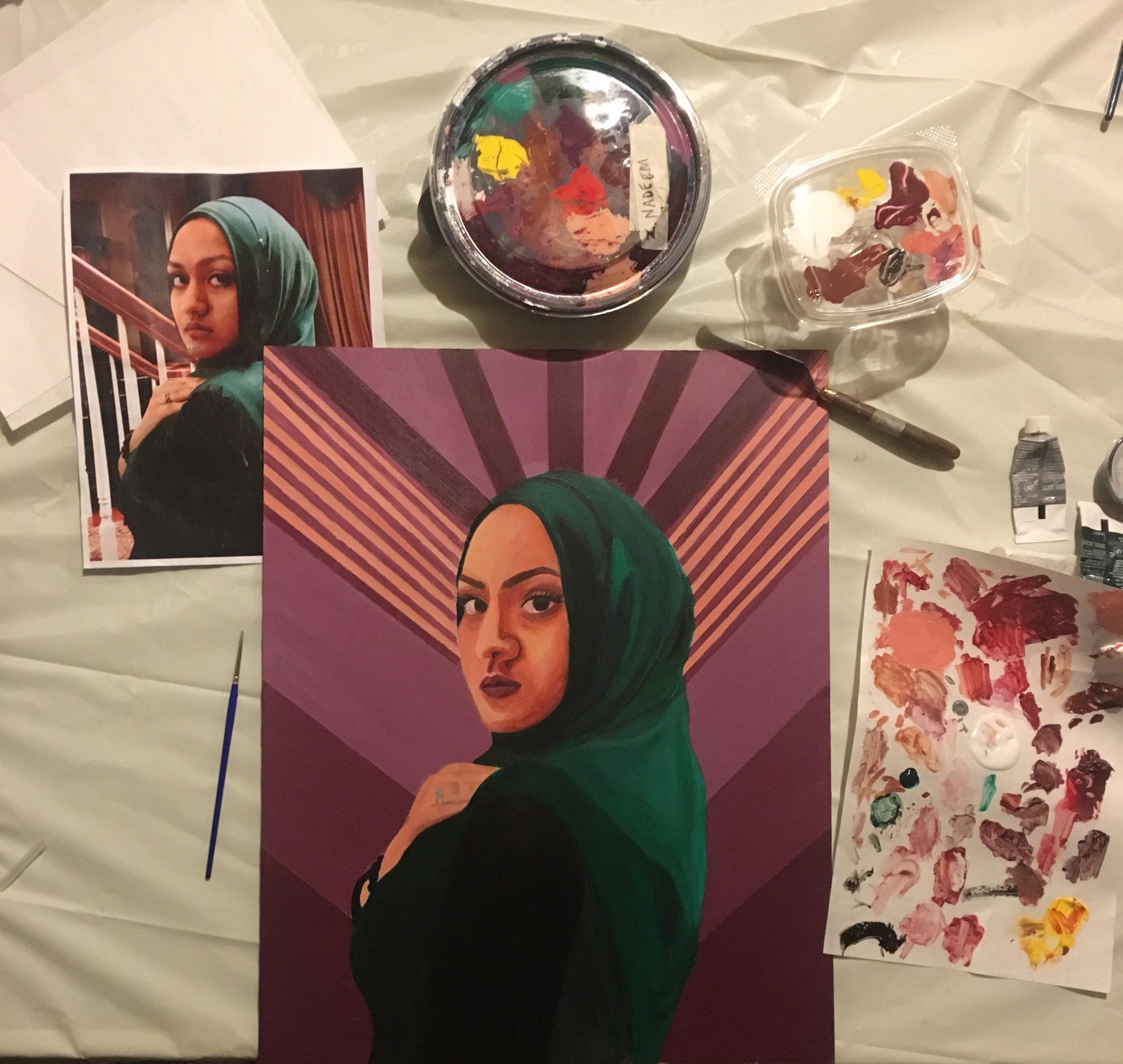Medium: Acrylic Paint