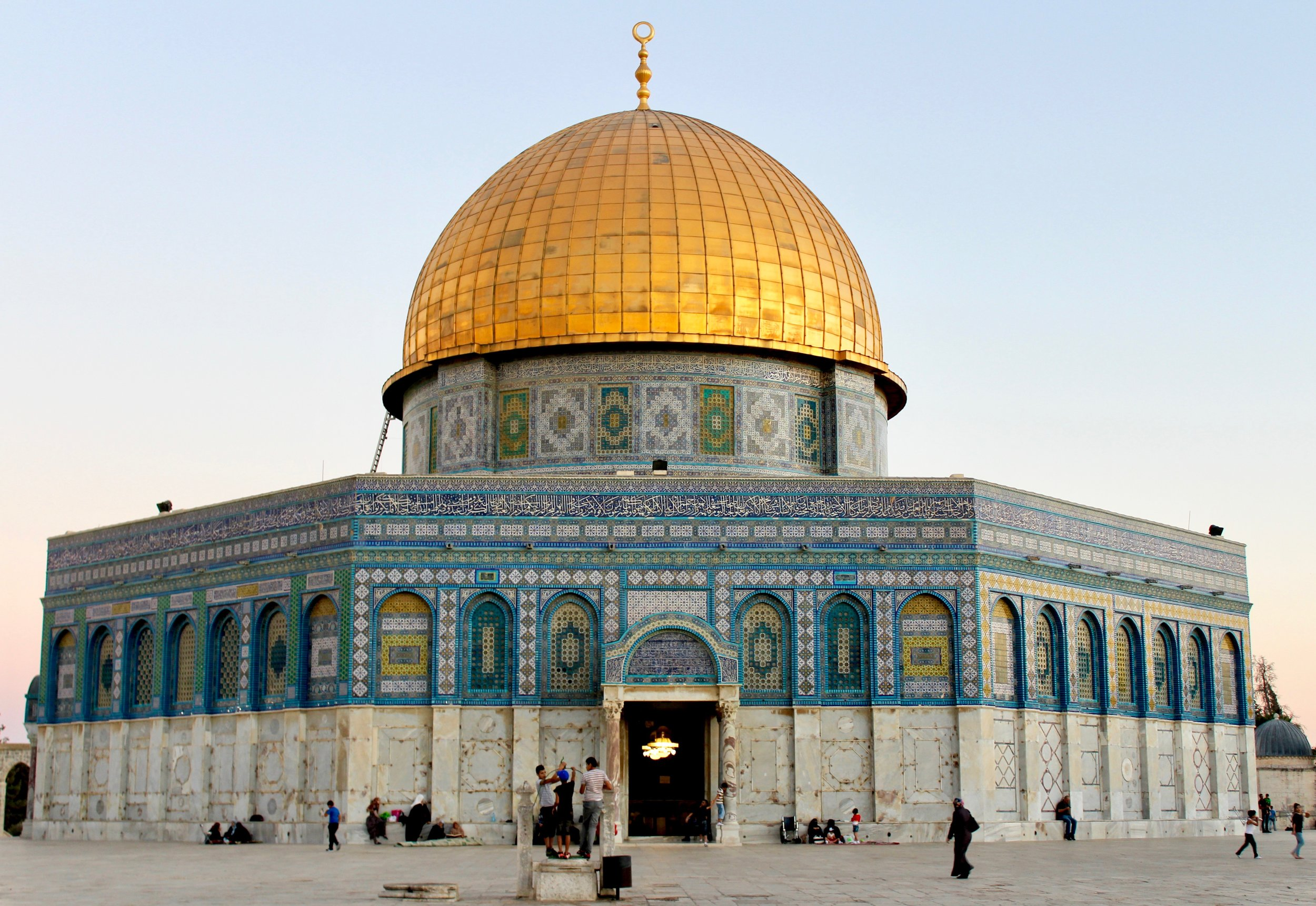 Dome of the Rock, Jerusalem, Palestine