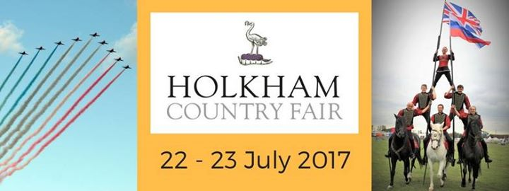 The Holkham Country Fair - One of Norfolk's most well loved events, the Holkham Country Fair, set in the grounds of Holkham Hall is set to be better than ever this year. Come and see us at our stand, where we will be exhibiting our range of Unique Homeware.