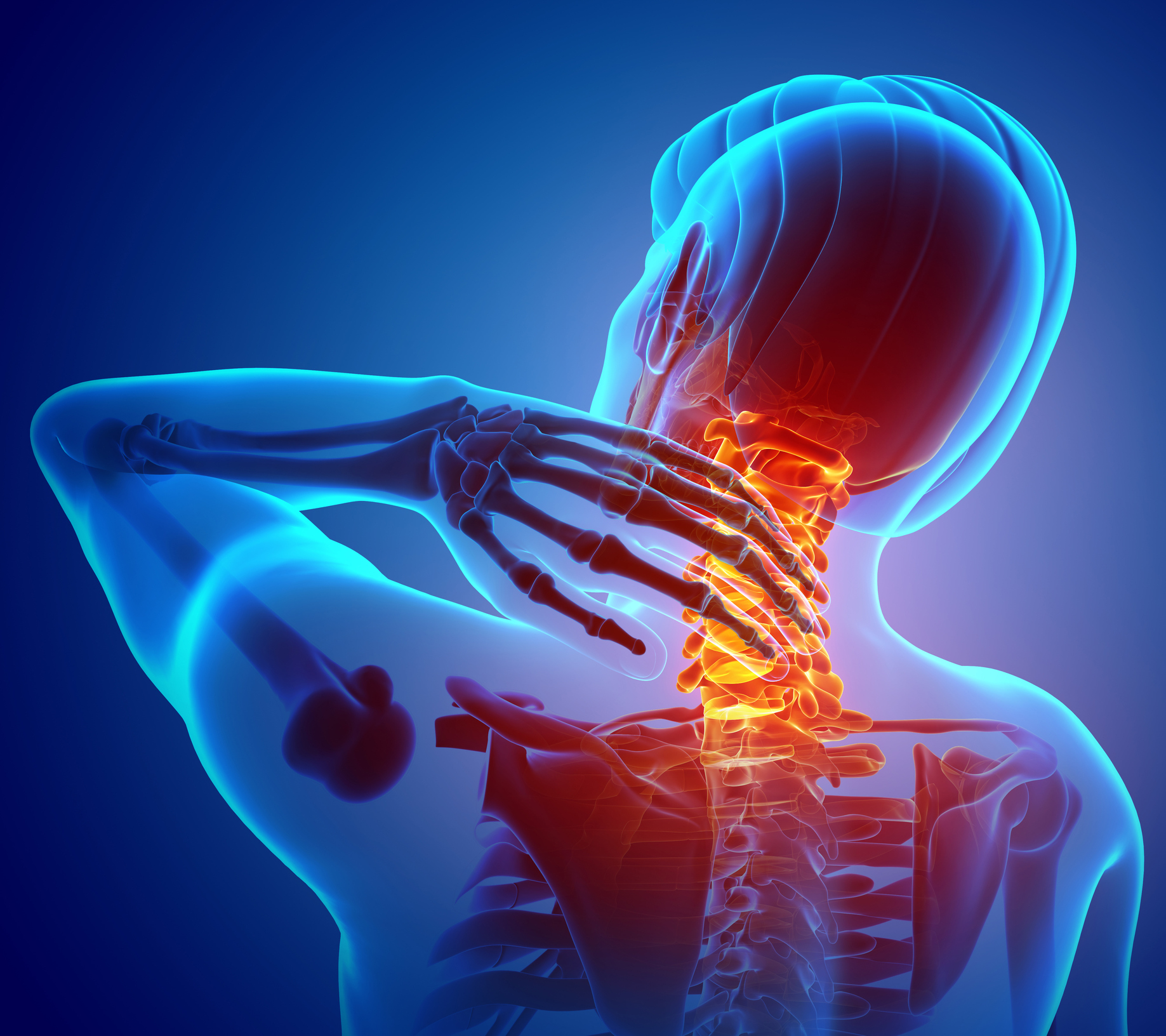 Neck pain during sleep can be a result of injuries weeks, months or even years ago.