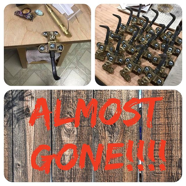 My Stinger Riveting System is almost sold out again for awhile. I have a few left so if you were considering purchasing one now is the time. I will not be making another batch for a few weeks. Purchase them on my website.  RobertLopezDesigns.com. #artisanjewelry #metalsmithingclasses #silversmith #jewelrymaking #jewelrytools #instajewelry #jewelry #riveting #metalsmith