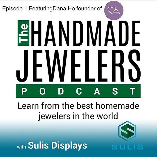 Check out my friends page @sulisdisplays. He started a podcast for handmade jewelry makers. His first interview is available with Danna Henning from @amoracast. His second interview will be available soon with yours truly!! He's a young man who is just starting out but has a strong drive to succeed. I see big things for him and I'm sure this is just the beginning. I encourage you to listen to the podcast as Dana has some great insight on marketing your work. #artisanjewelry #metalsmithingclasses #silversmith #jewelrymaking #jewelrytools #displays #jewelry #instajewelry