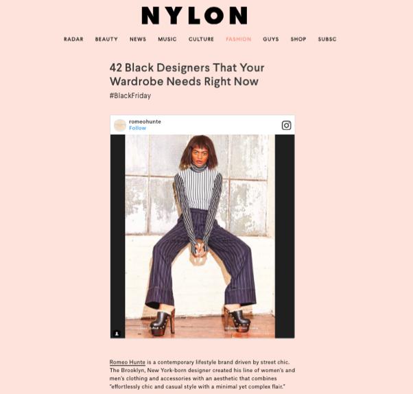 NYLON/FEB 2017