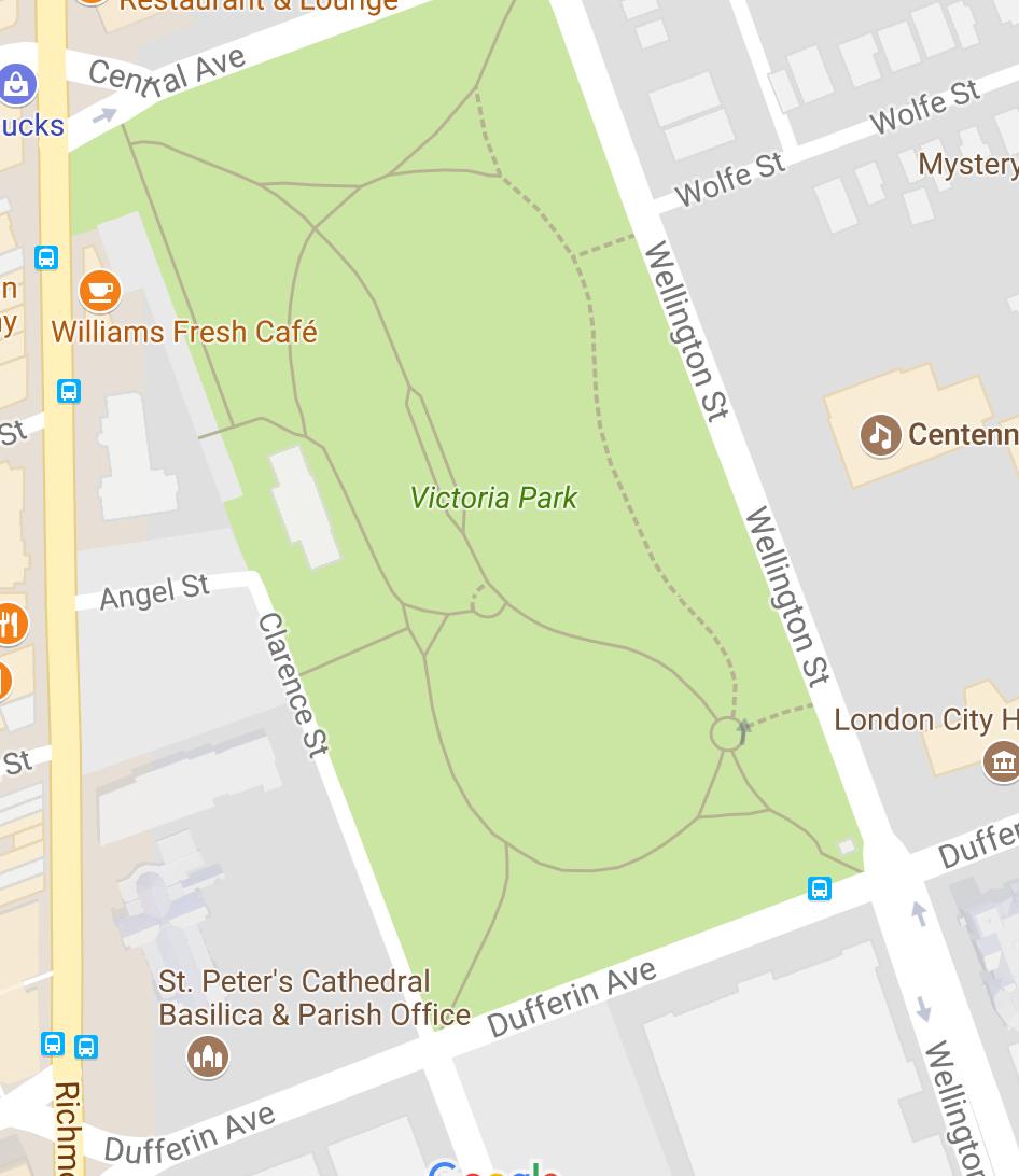 Improv Anonymous map london