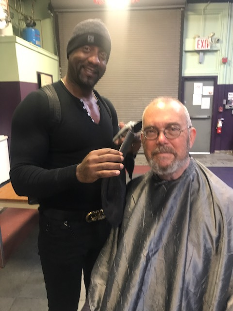 - Dontay takes pride in serving the community where he grew up. He regularly offers free hair cuts to homeless people in his local area.