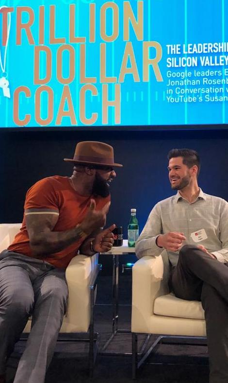 - Dontay joined a talk with Alan Eagle and other leaders at Google headquarters in Silicon Valley.