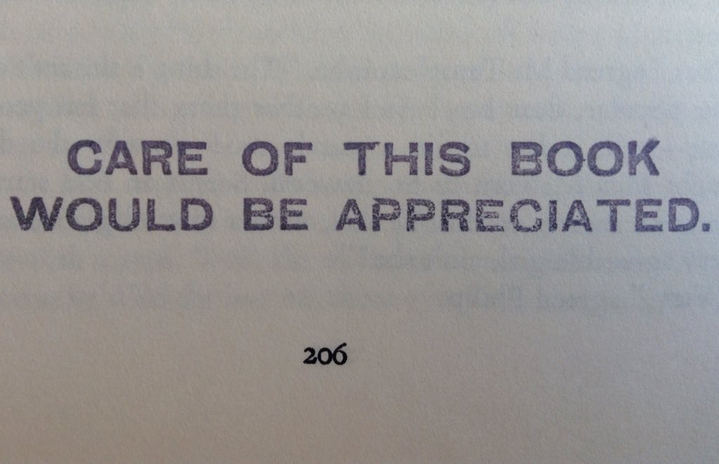 Spotted in a second-hand ex-library book. Photo credit: Elizabeth Heritage  CC BY